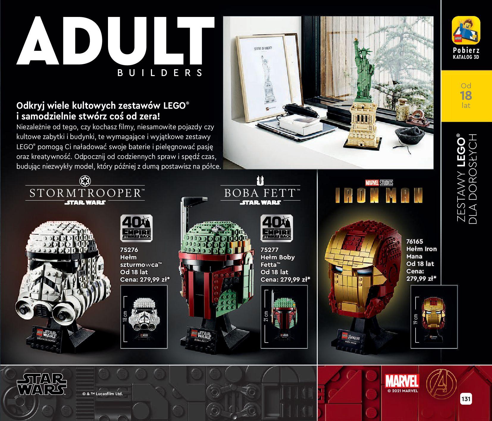 Gazetka LEGO: Katalog LEGO STYCZEŃ-MAJ 2021 2021-01-01 page-131