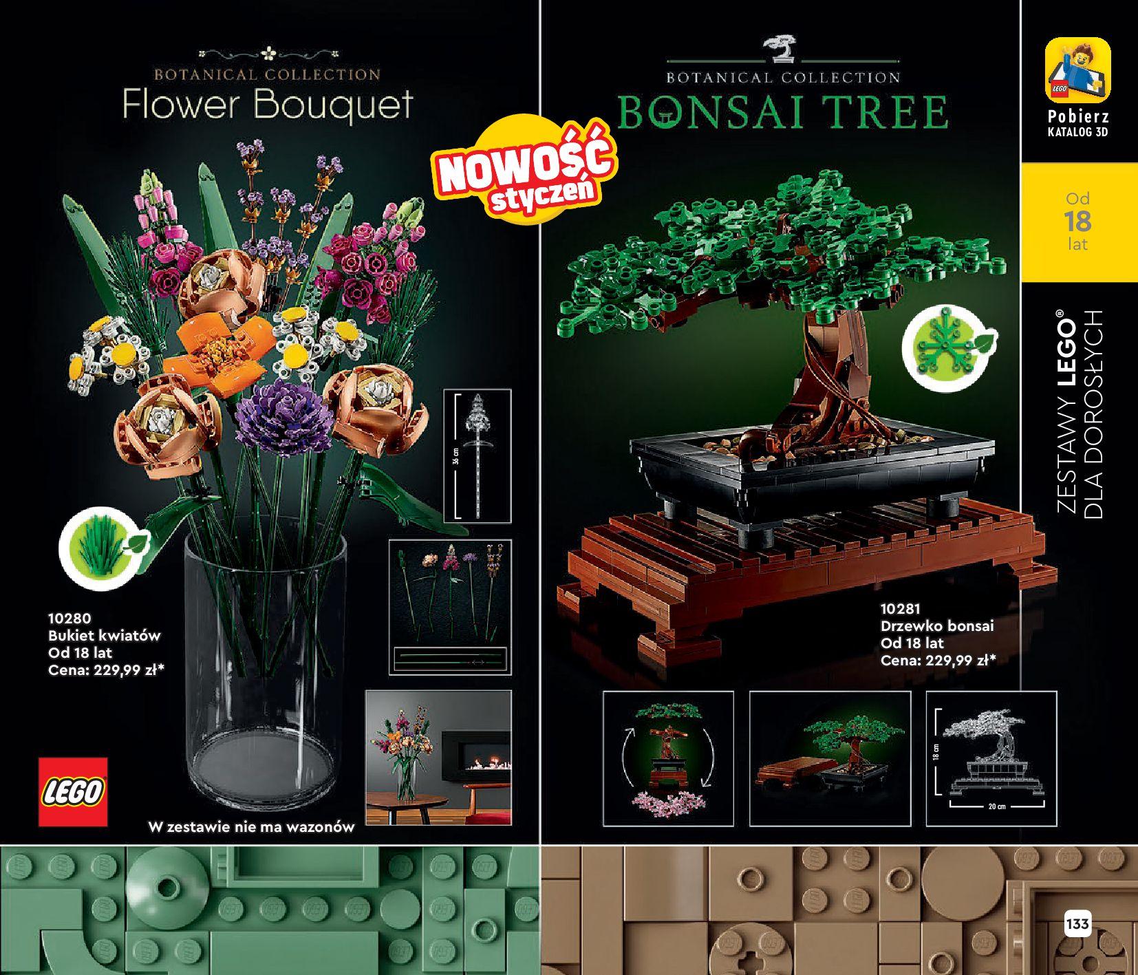 Gazetka LEGO: Katalog LEGO STYCZEŃ-MAJ 2021 2021-01-01 page-133