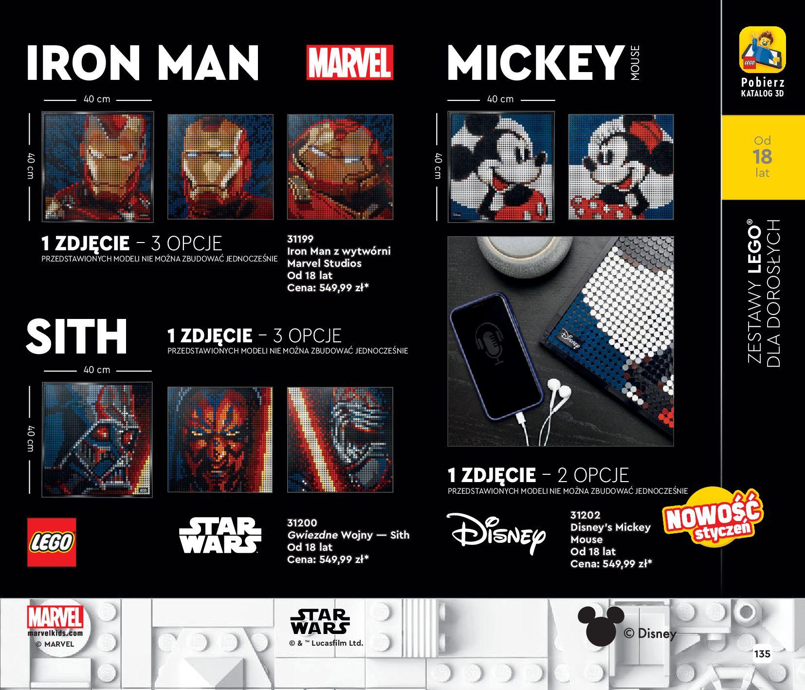 Gazetka LEGO: Katalog LEGO STYCZEŃ-MAJ 2021 2021-01-01 page-135