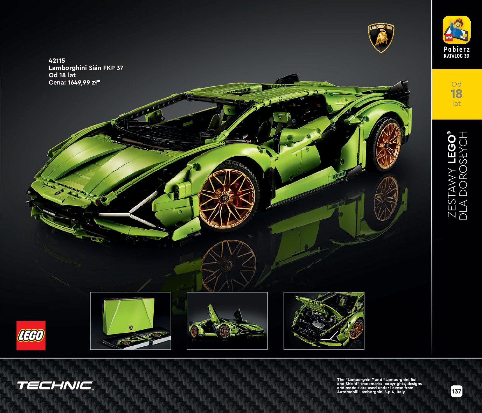 Gazetka LEGO: Katalog LEGO STYCZEŃ-MAJ 2021 2021-01-01 page-137