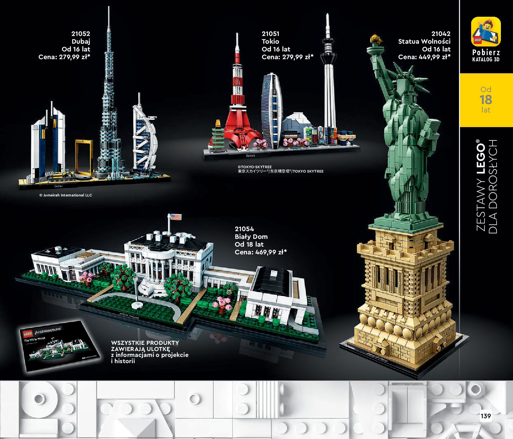 Gazetka LEGO: Katalog LEGO STYCZEŃ-MAJ 2021 2021-01-01 page-139