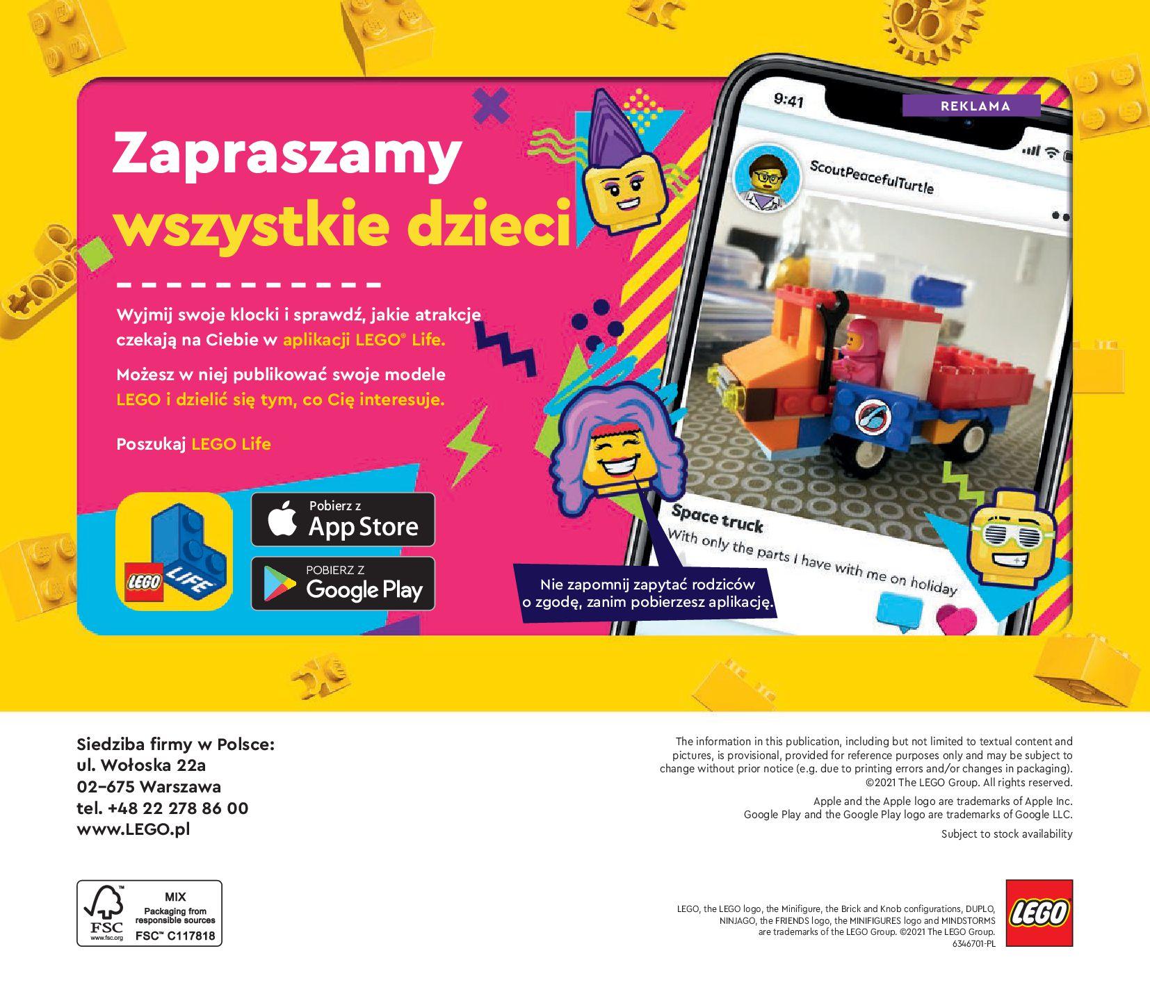 Gazetka LEGO: Katalog LEGO STYCZEŃ-MAJ 2021 2021-01-01 page-140