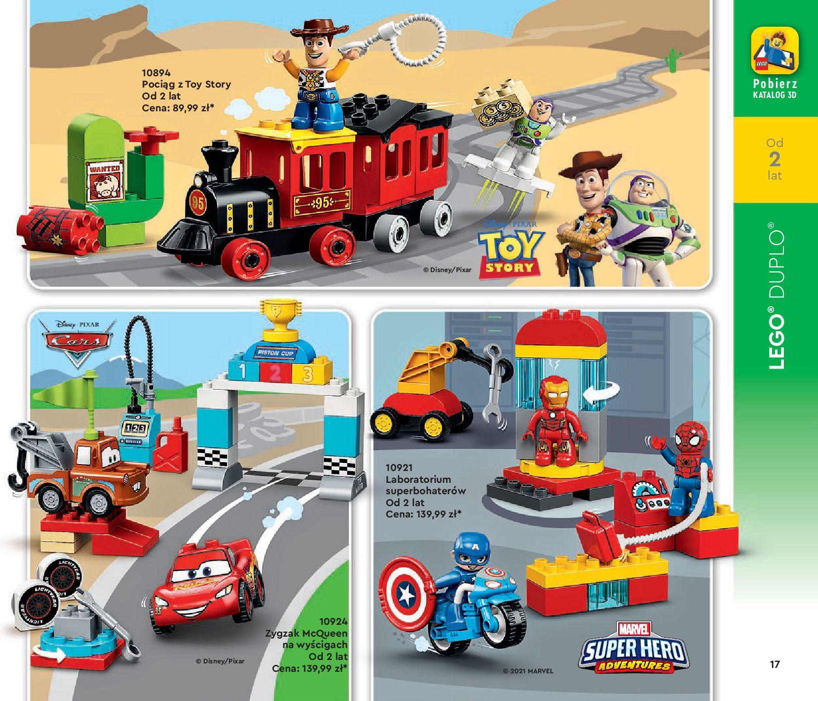 Gazetka LEGO: Katalog LEGO STYCZEŃ-MAJ 2021 2021-01-01 page-17