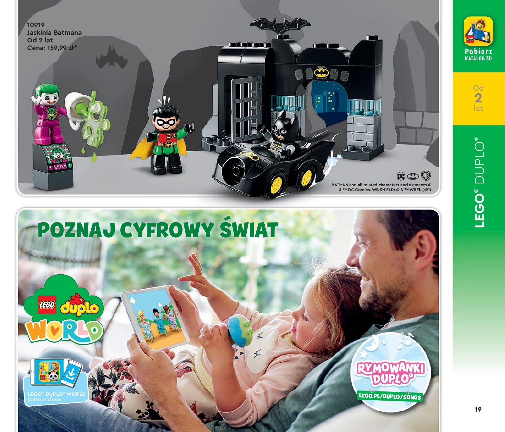 Gazetka LEGO: Katalog LEGO STYCZEŃ-MAJ 2021 2021-01-01 page-19
