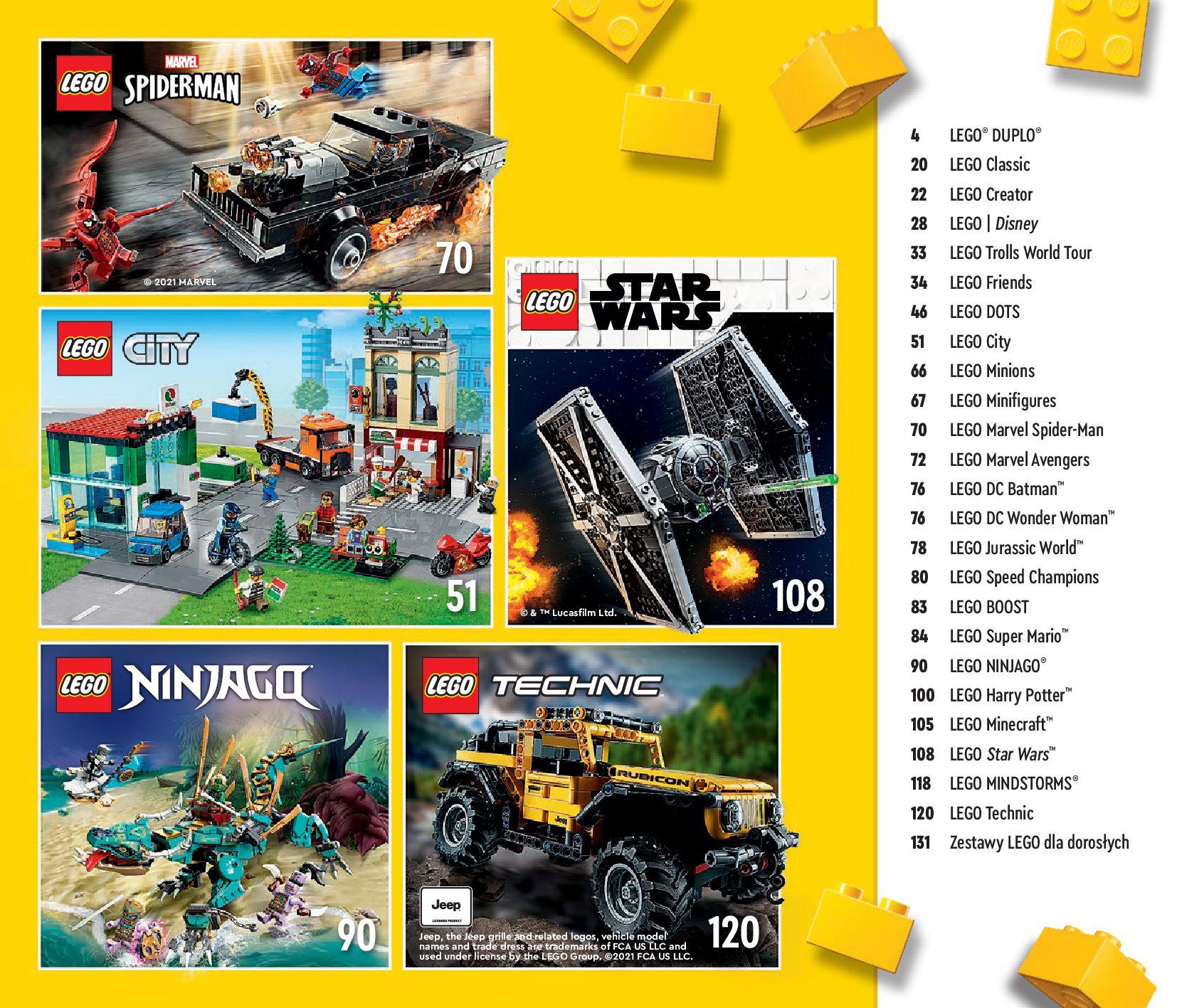 Gazetka LEGO: Katalog LEGO STYCZEŃ-MAJ 2021 2021-01-01 page-3