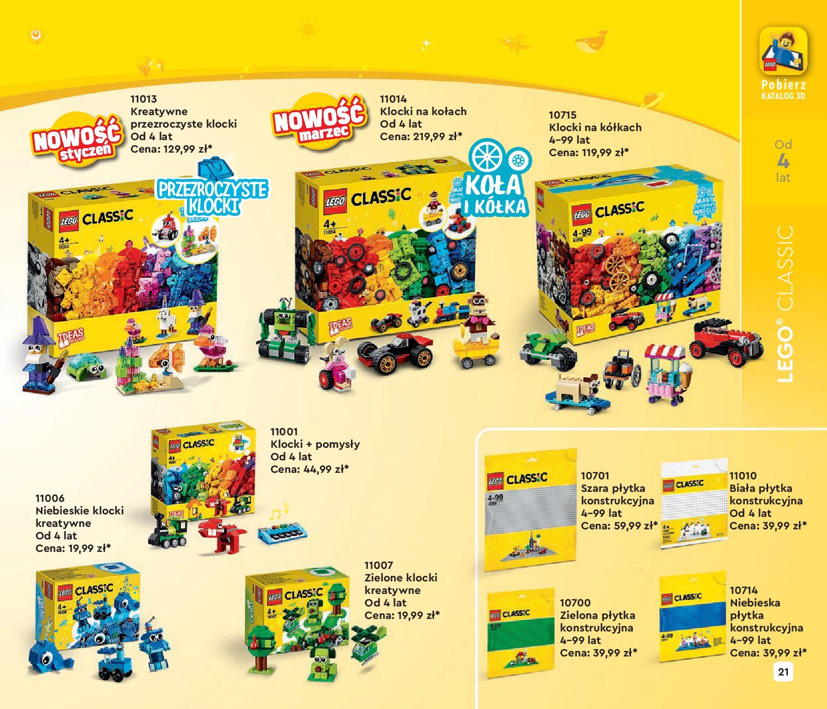 Gazetka LEGO: Katalog LEGO STYCZEŃ-MAJ 2021 2021-01-01 page-21