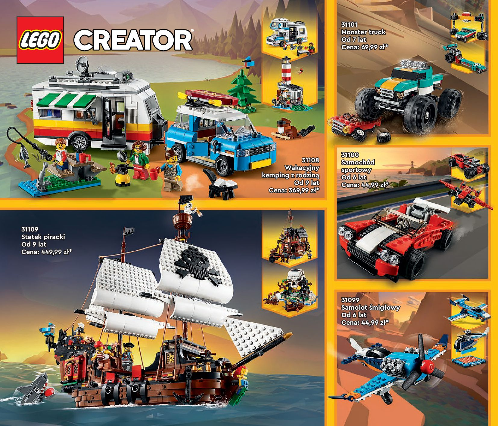 Gazetka LEGO: Katalog LEGO STYCZEŃ-MAJ 2021 2021-01-01 page-22