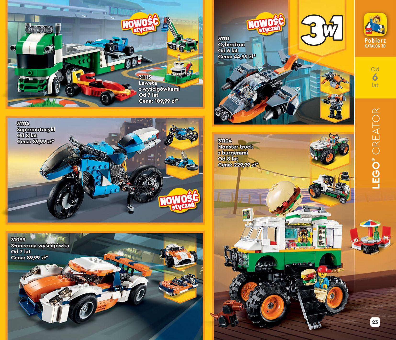 Gazetka LEGO: Katalog LEGO STYCZEŃ-MAJ 2021 2021-01-01 page-23