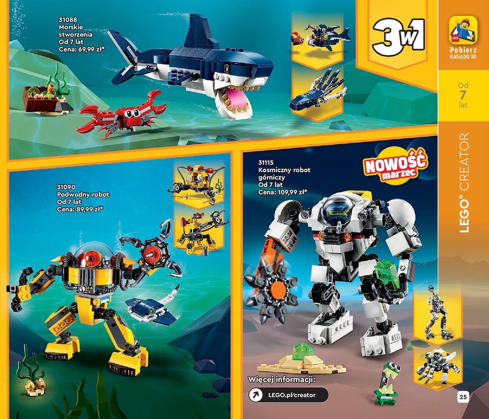 Gazetka LEGO: Katalog LEGO STYCZEŃ-MAJ 2021 2021-01-01 page-25