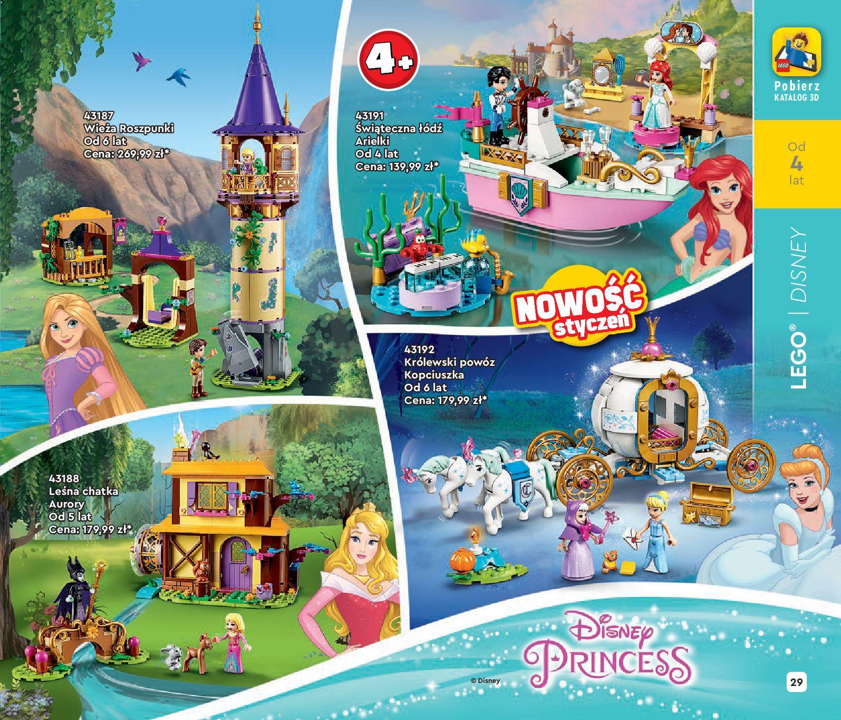 Gazetka LEGO: Katalog LEGO STYCZEŃ-MAJ 2021 2021-01-01 page-29