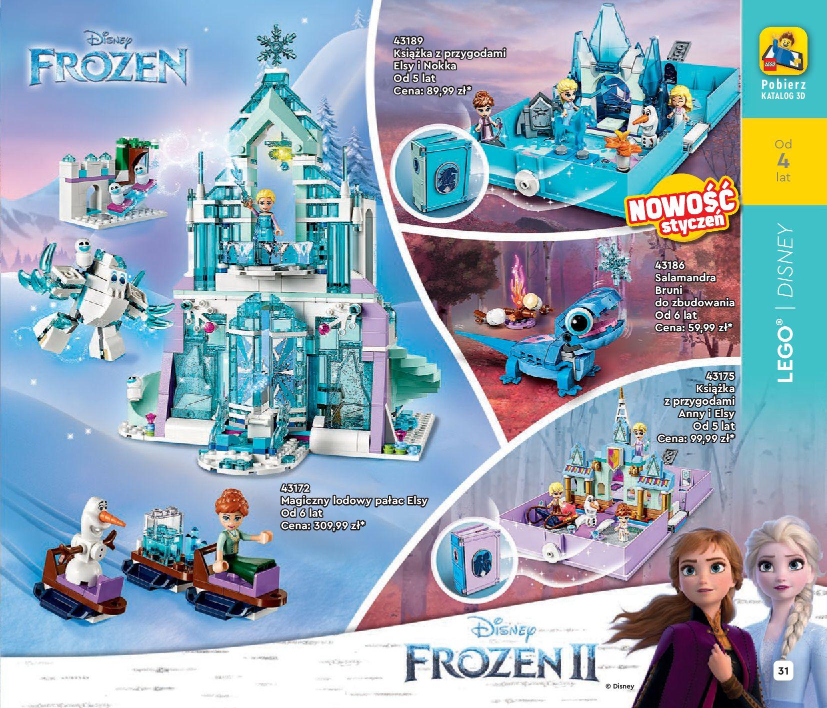 Gazetka LEGO: Katalog LEGO STYCZEŃ-MAJ 2021 2021-01-01 page-31