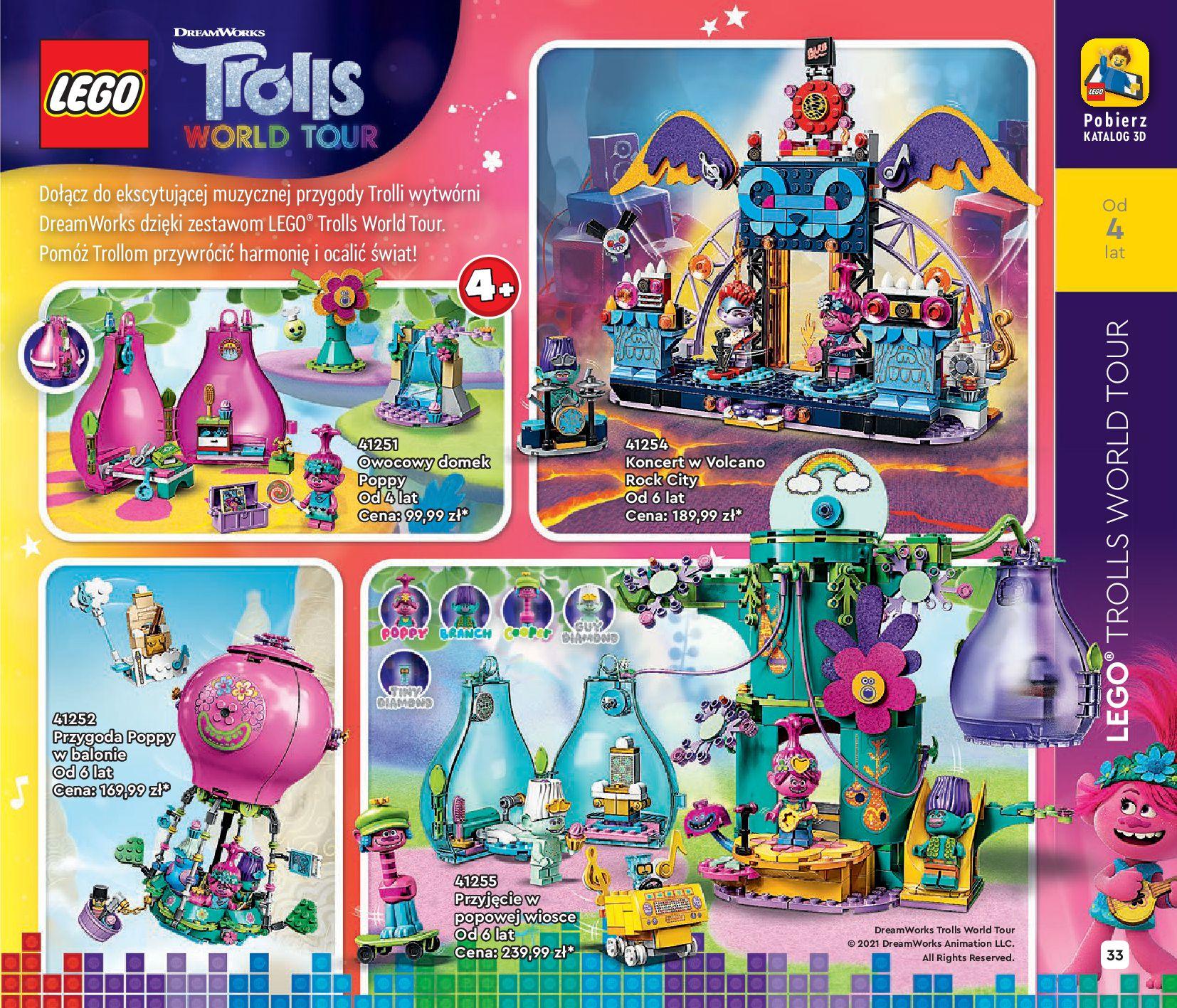 Gazetka LEGO: Katalog LEGO STYCZEŃ-MAJ 2021 2021-01-01 page-33