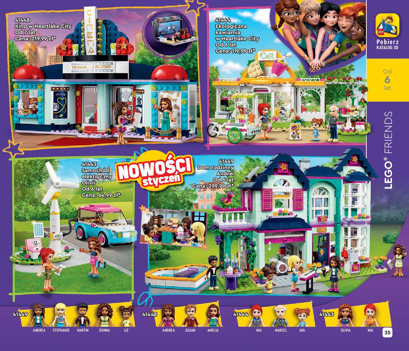 Gazetka LEGO: Katalog LEGO STYCZEŃ-MAJ 2021 2021-01-01 page-35