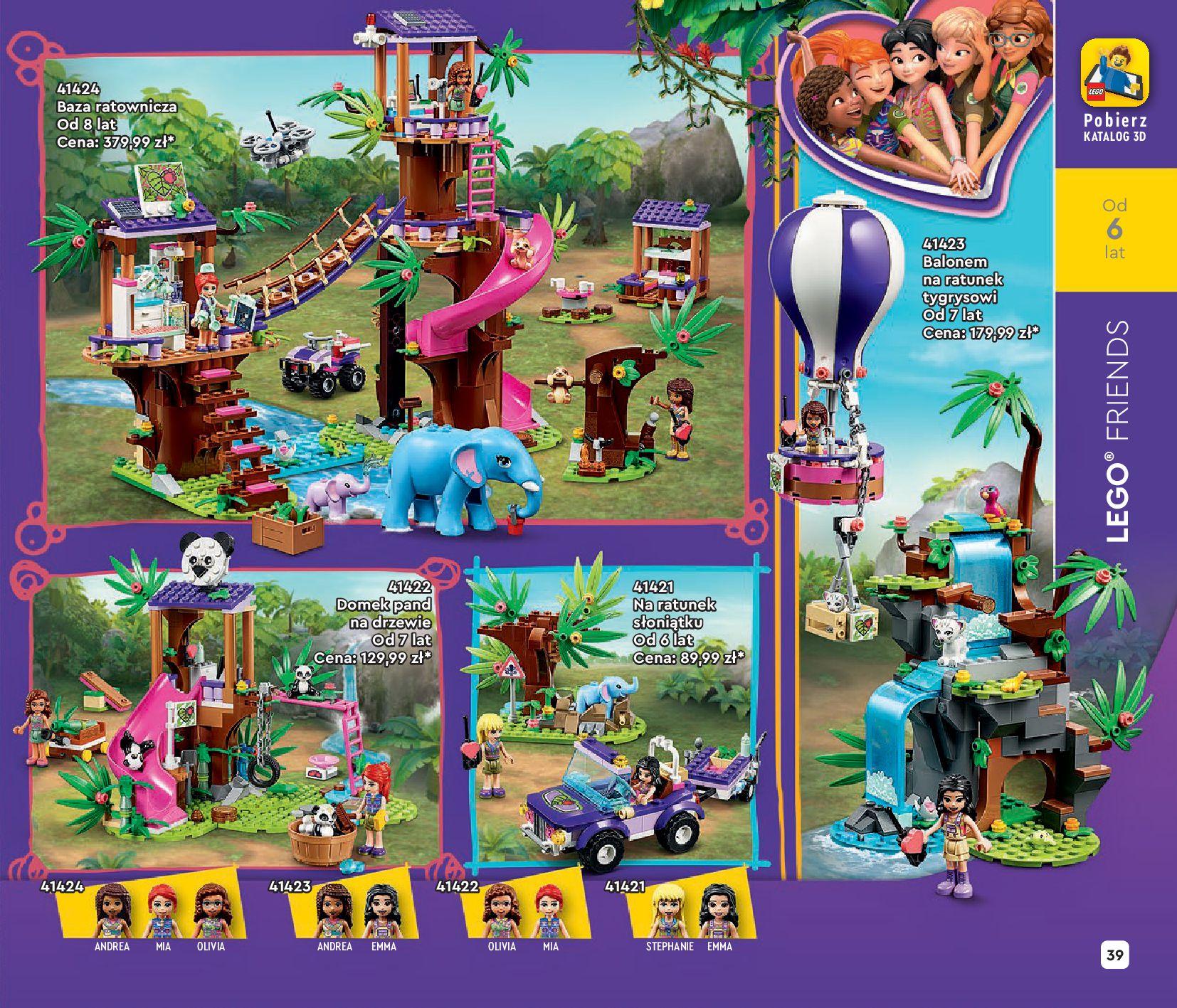 Gazetka LEGO: Katalog LEGO STYCZEŃ-MAJ 2021 2021-01-01 page-39