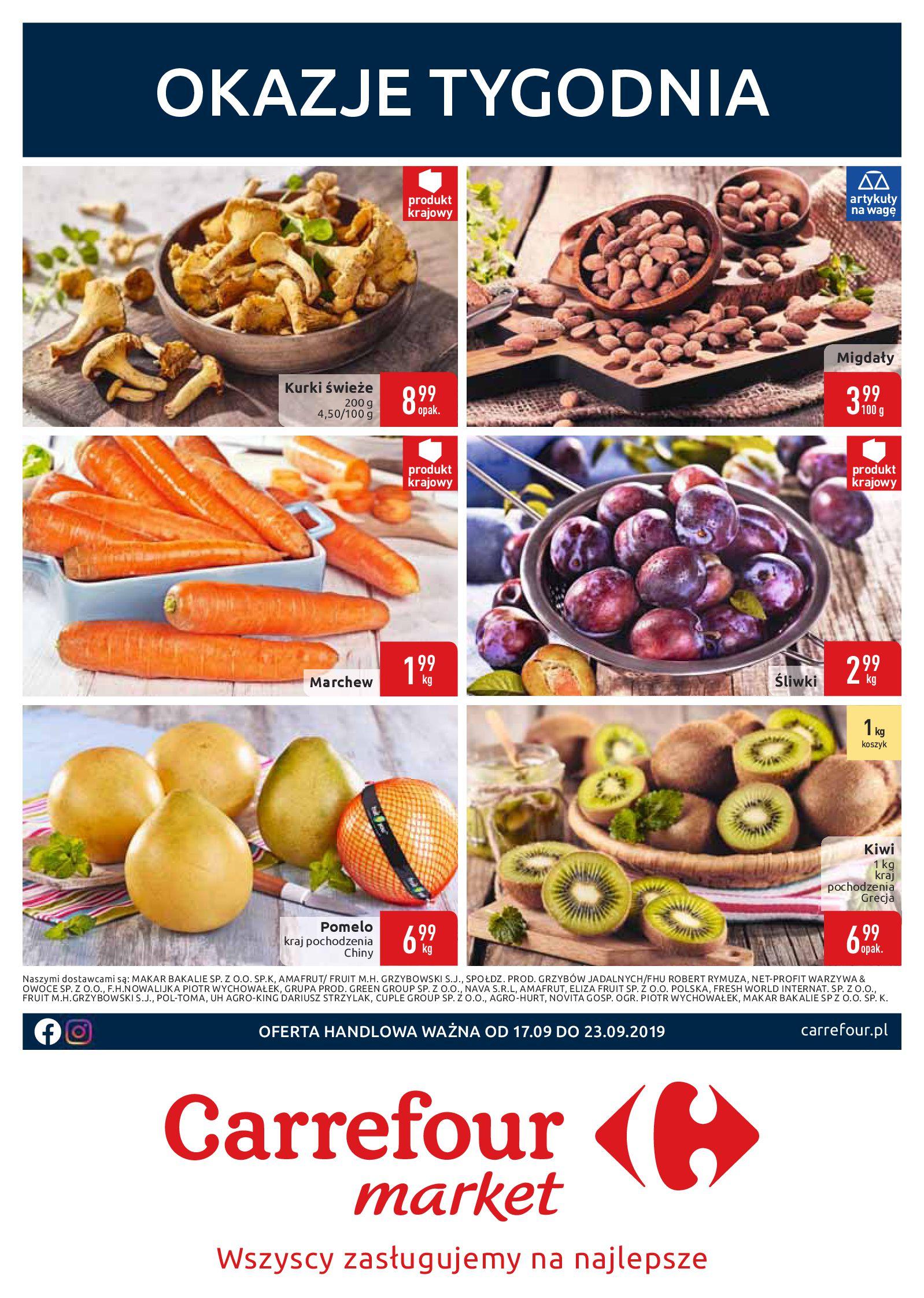Gazetka Carrefour Market - Okazje tygodnia-16.09.2019-23.09.2019-page-