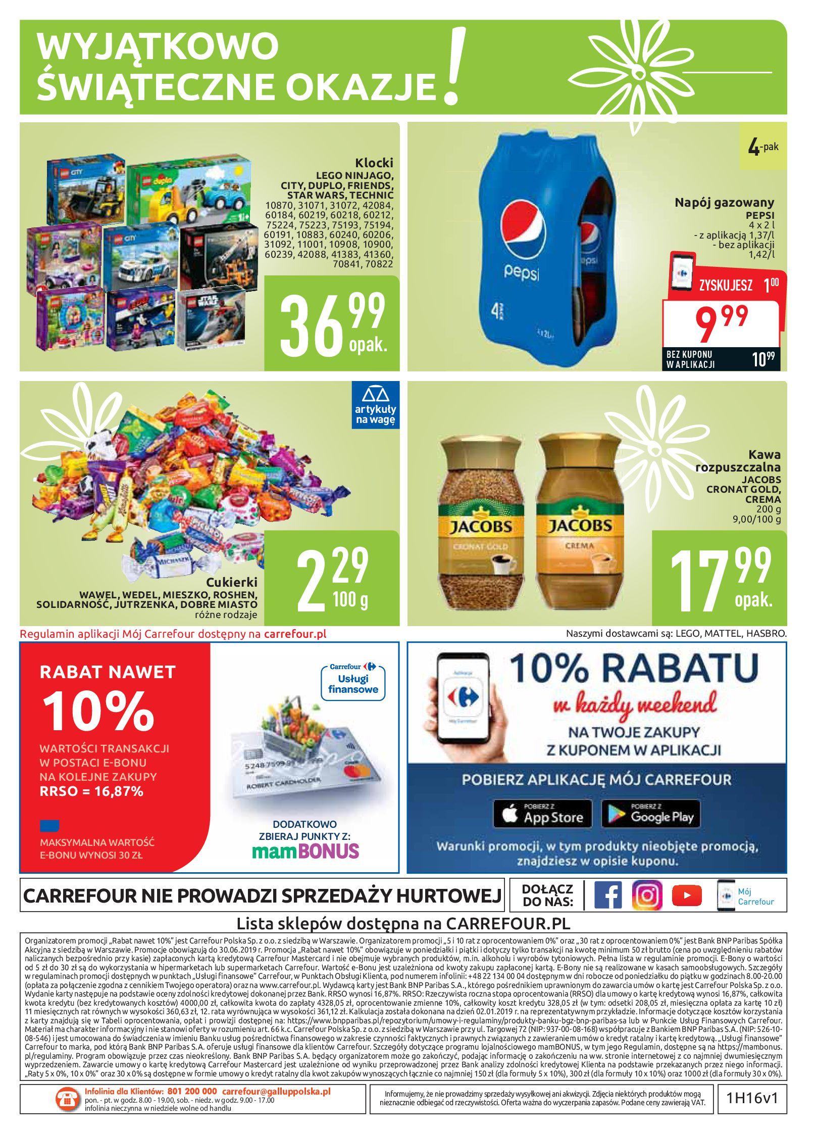 Gazetka Carrefour - Najlepszy wybór, najlepsze ceny-14.04.2019-20.04.2019-page-