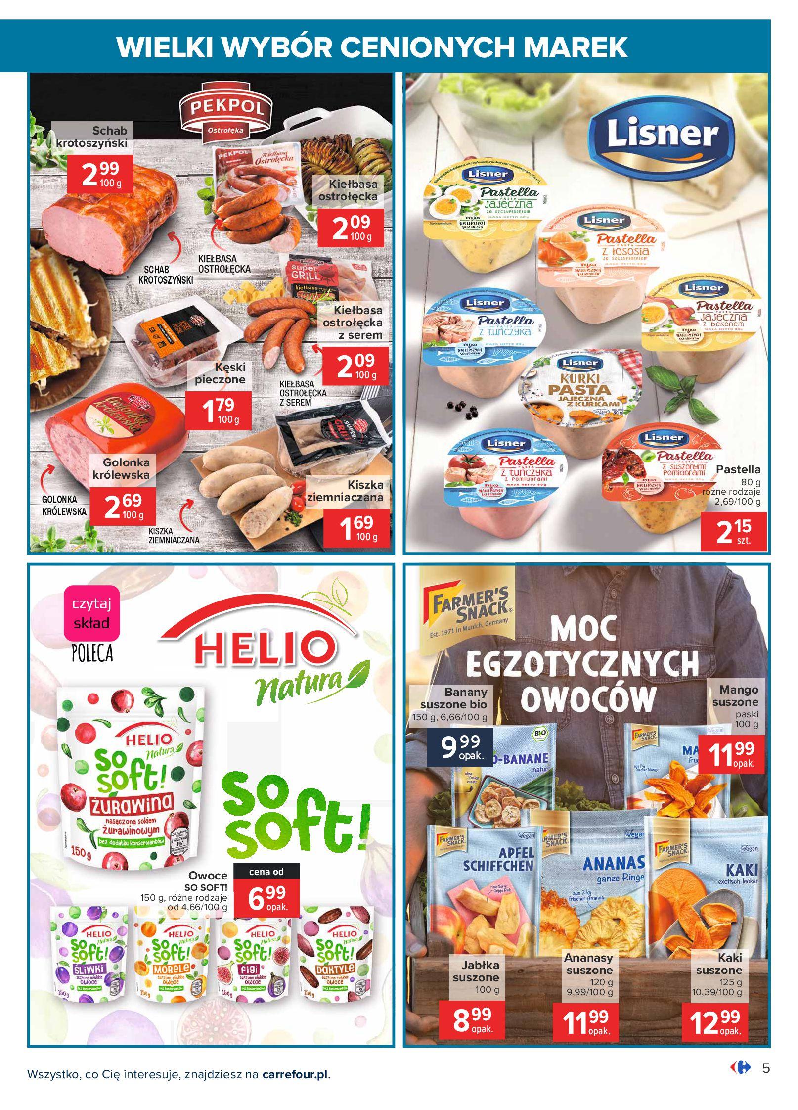 Gazetka Carrefour: Wielki wybór cenionych marek 2021-05-04 page-5
