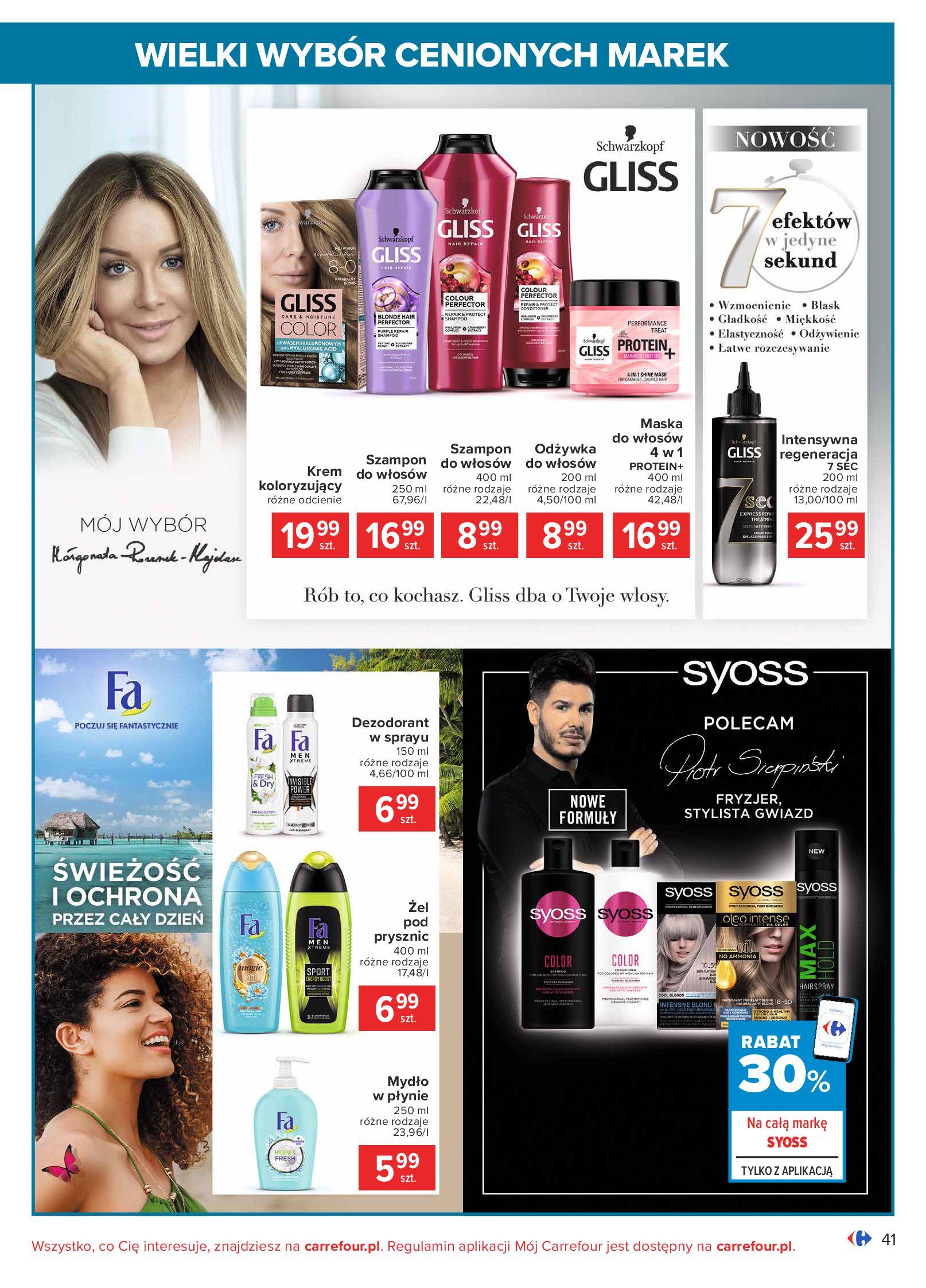 Gazetka Carrefour: Wielki wybór cenionych marek 2021-05-04 page-41