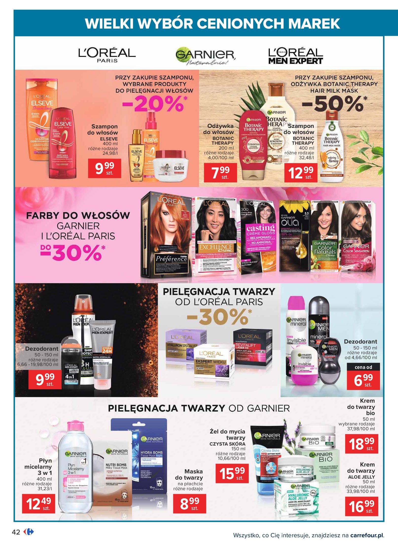 Gazetka Carrefour: Wielki wybór cenionych marek 2021-05-04 page-42