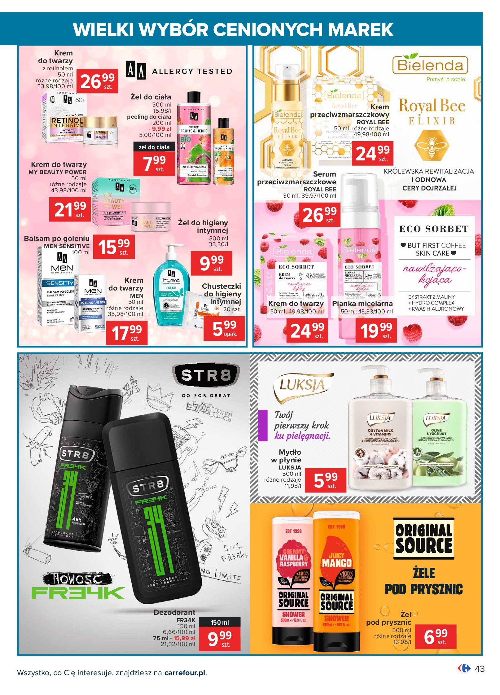 Gazetka Carrefour: Wielki wybór cenionych marek 2021-05-04 page-43
