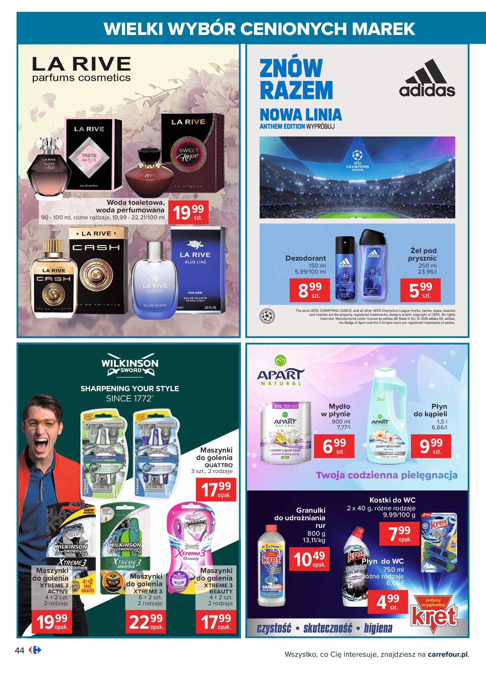 Gazetka Carrefour: Wielki wybór cenionych marek 2021-05-04 page-44
