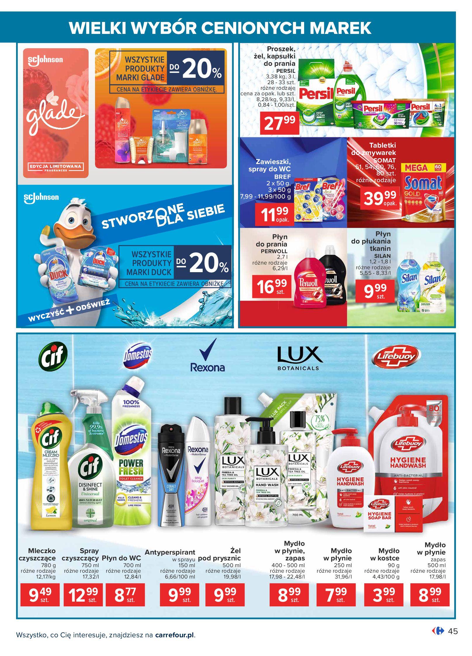 Gazetka Carrefour: Wielki wybór cenionych marek 2021-05-04 page-45