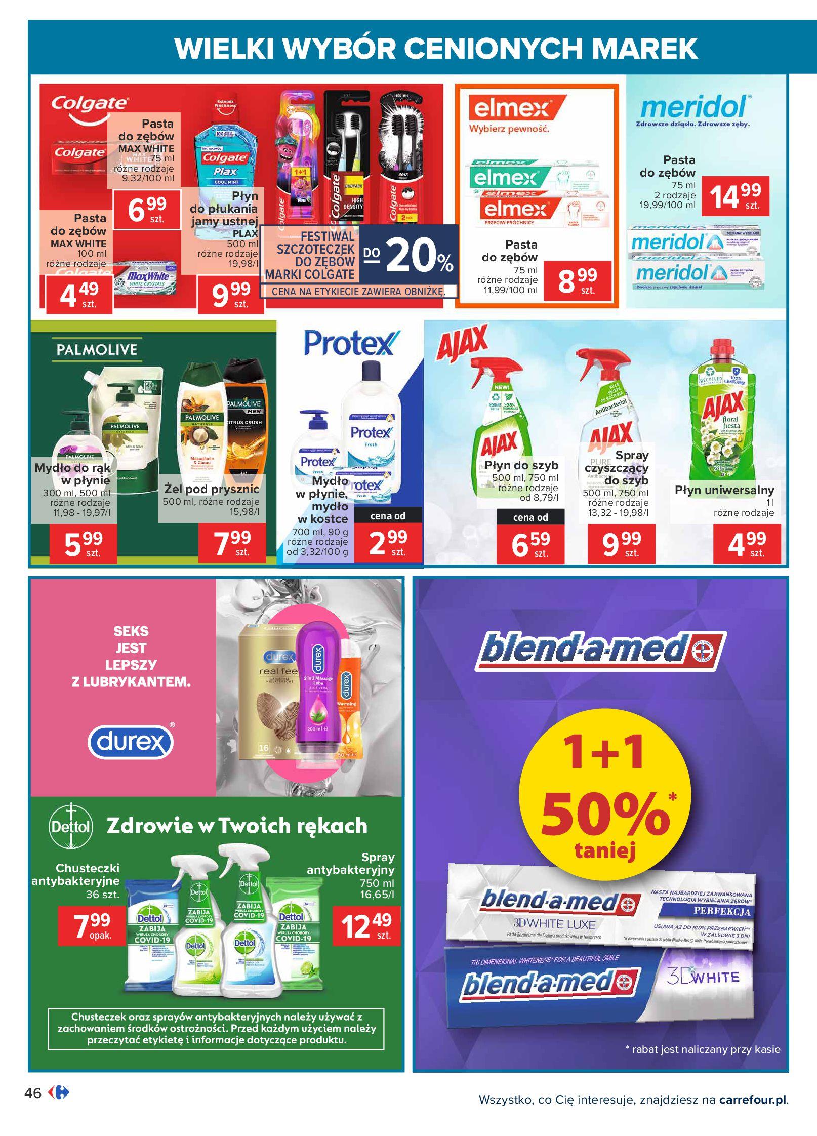 Gazetka Carrefour: Wielki wybór cenionych marek 2021-05-04 page-46