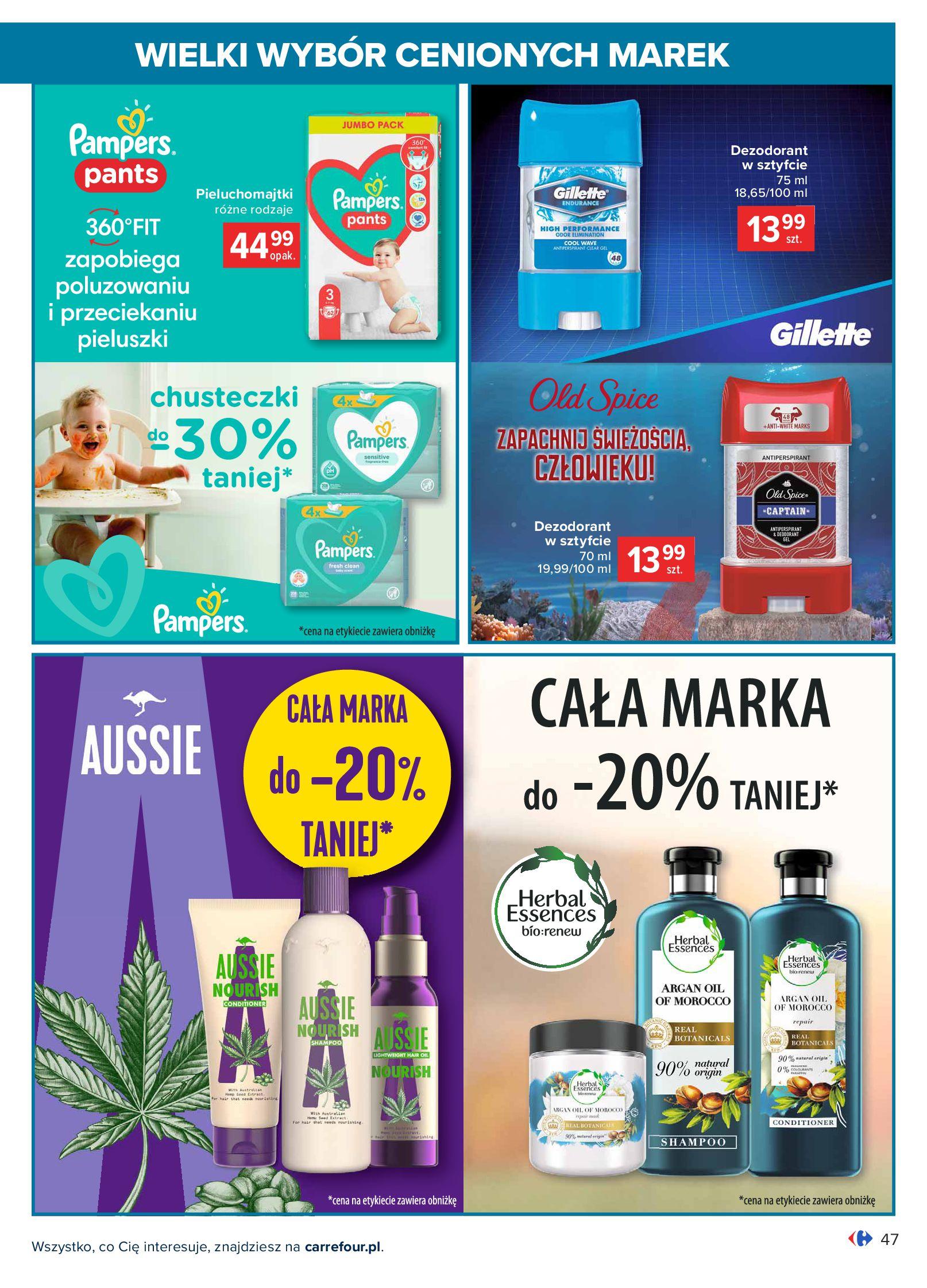 Gazetka Carrefour: Wielki wybór cenionych marek 2021-05-04 page-47