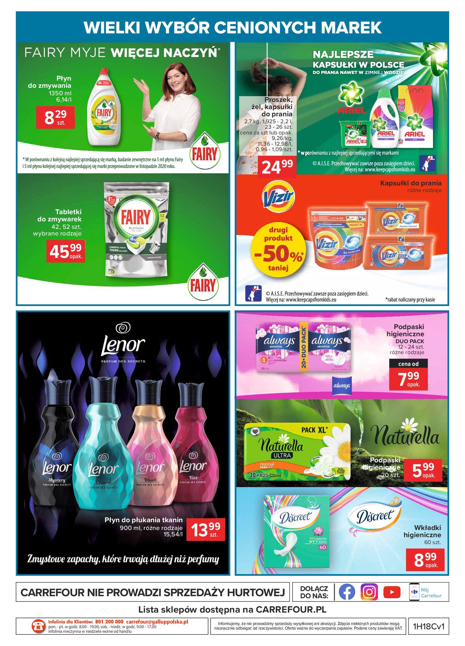 Gazetka Carrefour: Wielki wybór cenionych marek 2021-05-04 page-48