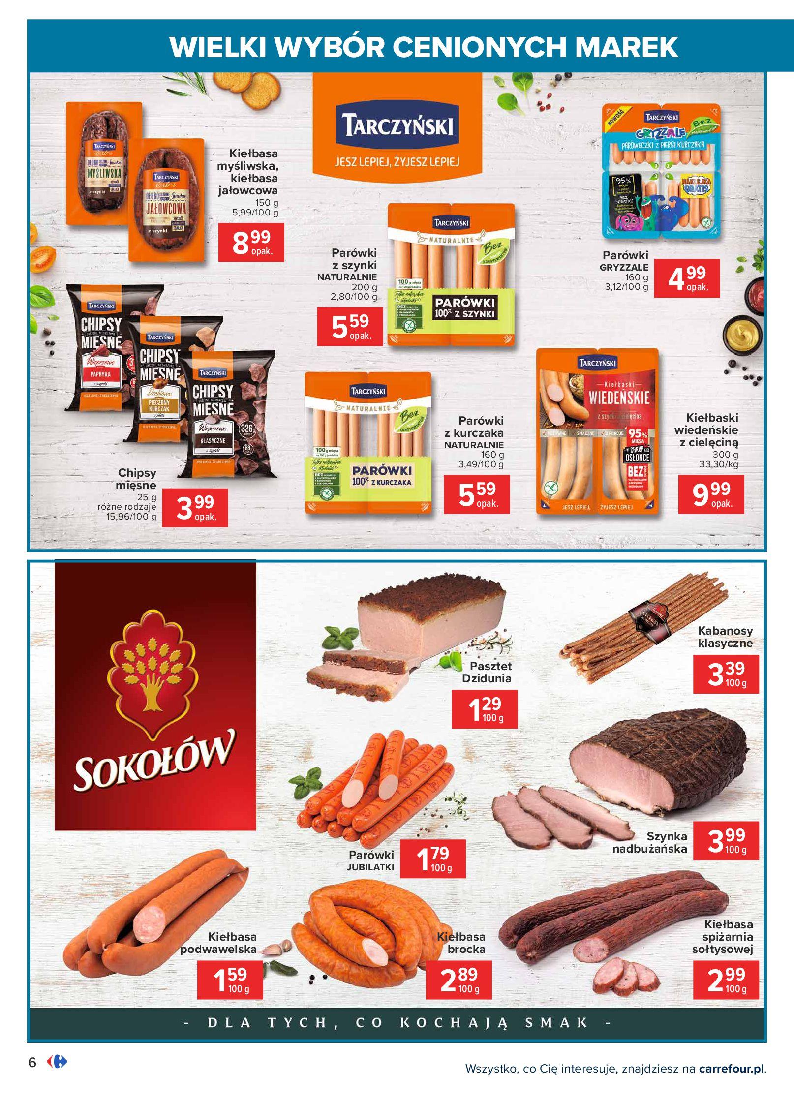 Gazetka Carrefour: Wielki wybór cenionych marek 2021-05-04 page-6