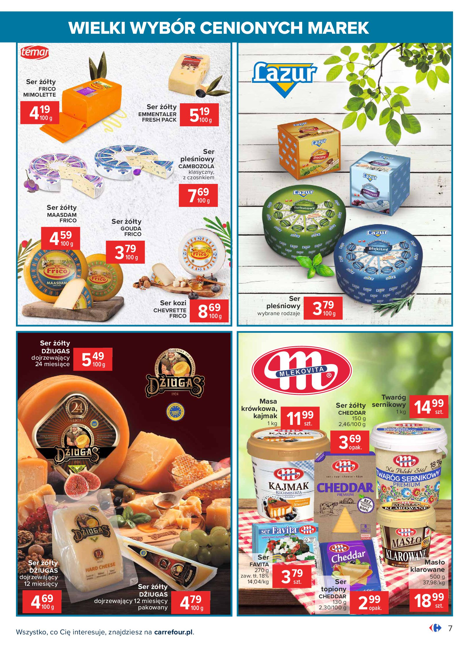 Gazetka Carrefour: Wielki wybór cenionych marek 2021-05-04 page-7