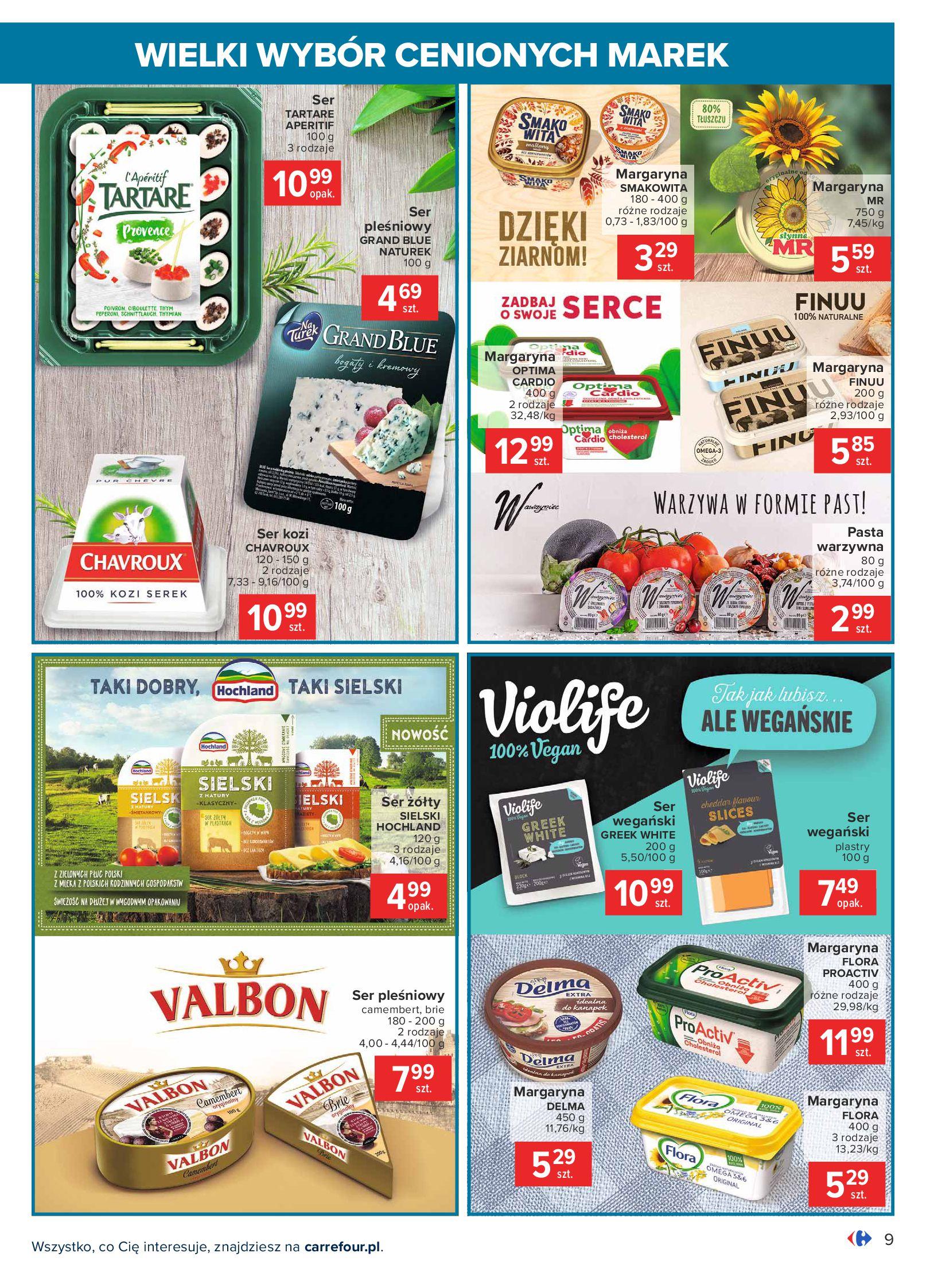 Gazetka Carrefour: Wielki wybór cenionych marek 2021-05-04 page-9