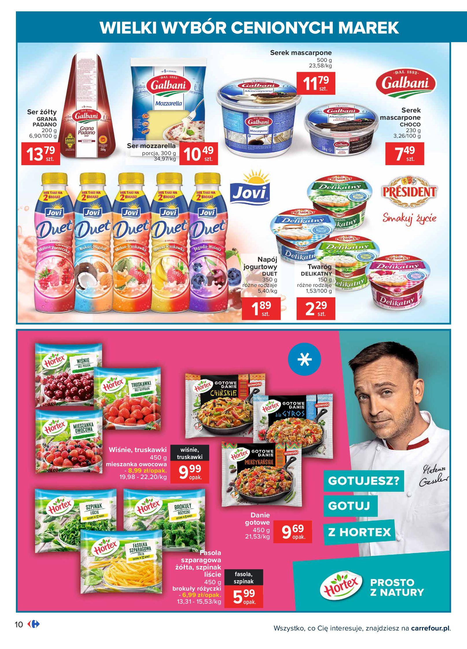 Gazetka Carrefour: Wielki wybór cenionych marek 2021-05-04 page-10