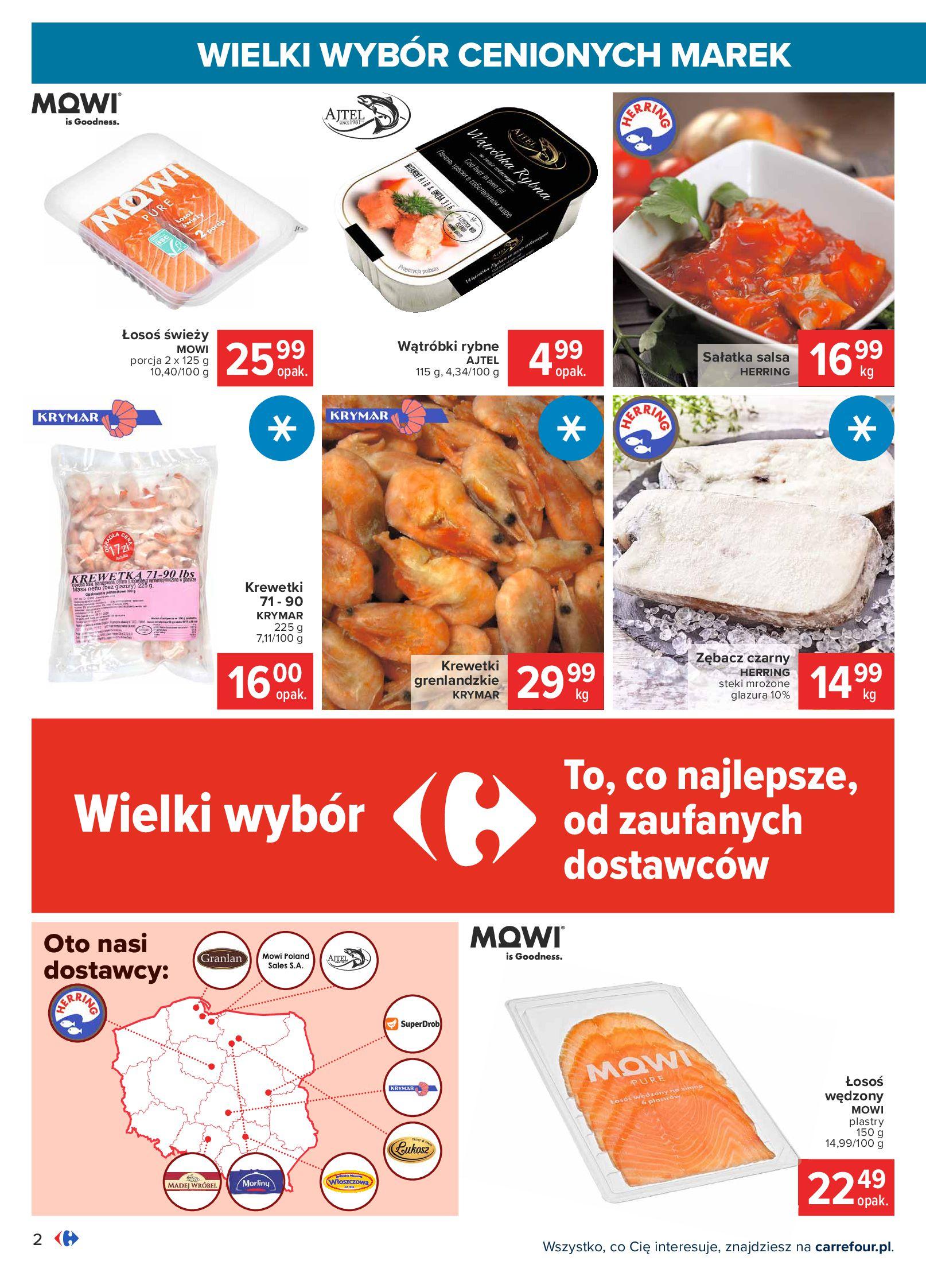 Gazetka Carrefour: Wielki wybór cenionych marek 2021-05-04 page-2
