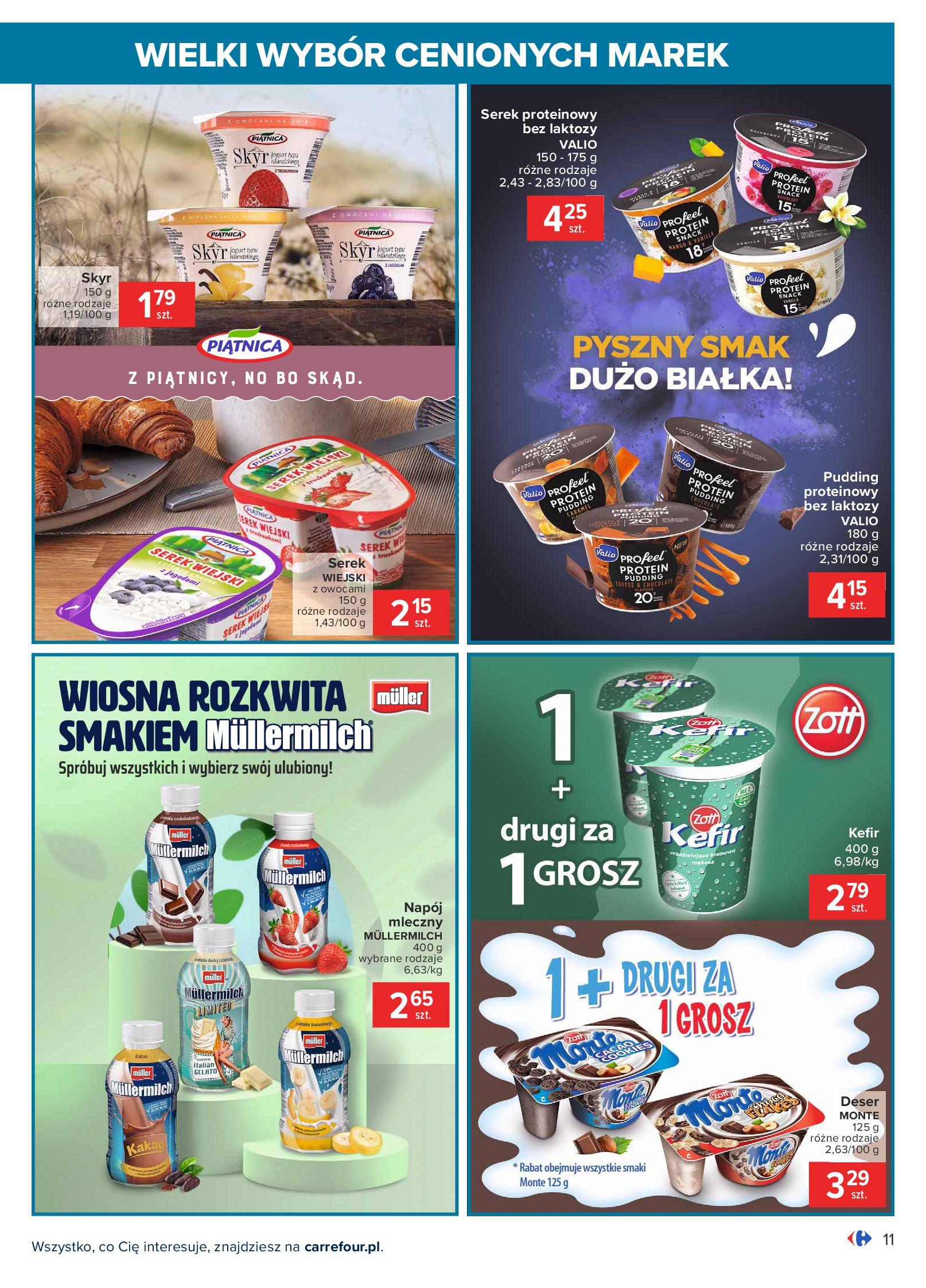 Gazetka Carrefour: Wielki wybór cenionych marek 2021-05-04 page-11