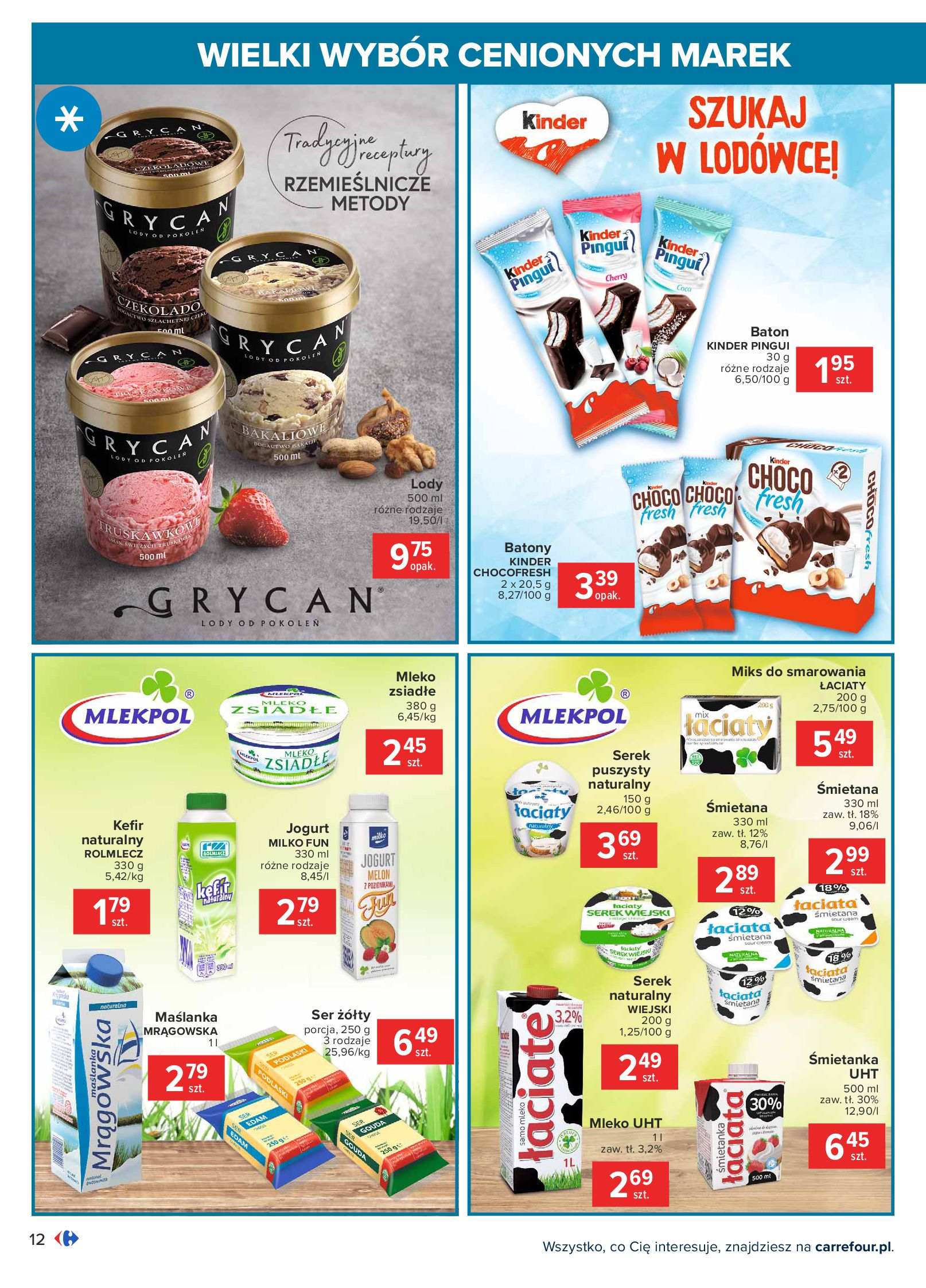 Gazetka Carrefour: Wielki wybór cenionych marek 2021-05-04 page-12