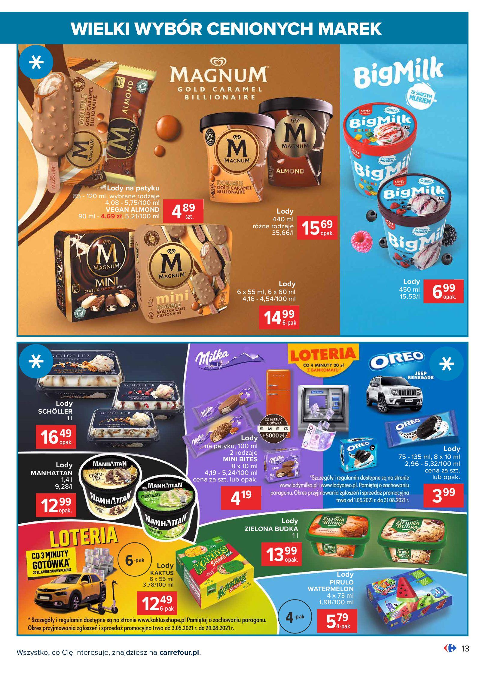 Gazetka Carrefour: Wielki wybór cenionych marek 2021-05-04 page-13