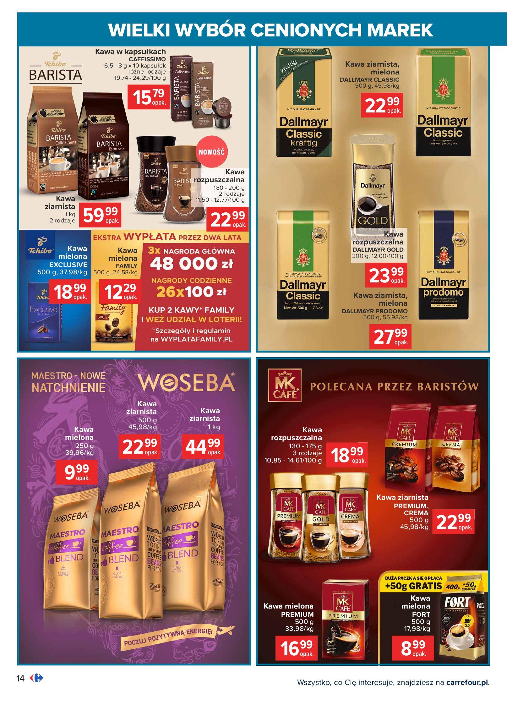 Gazetka Carrefour: Wielki wybór cenionych marek 2021-05-04 page-14