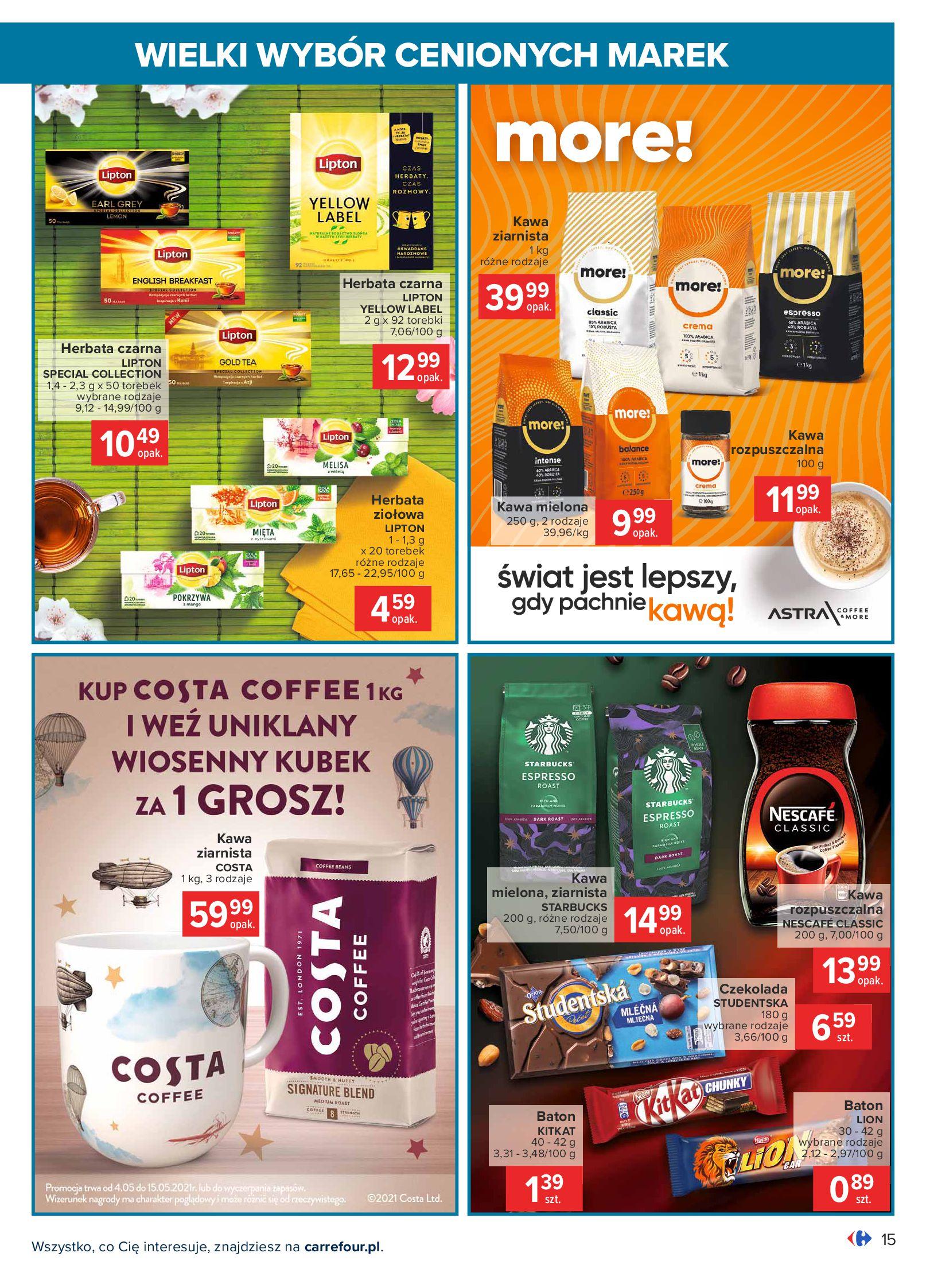 Gazetka Carrefour: Wielki wybór cenionych marek 2021-05-04 page-15
