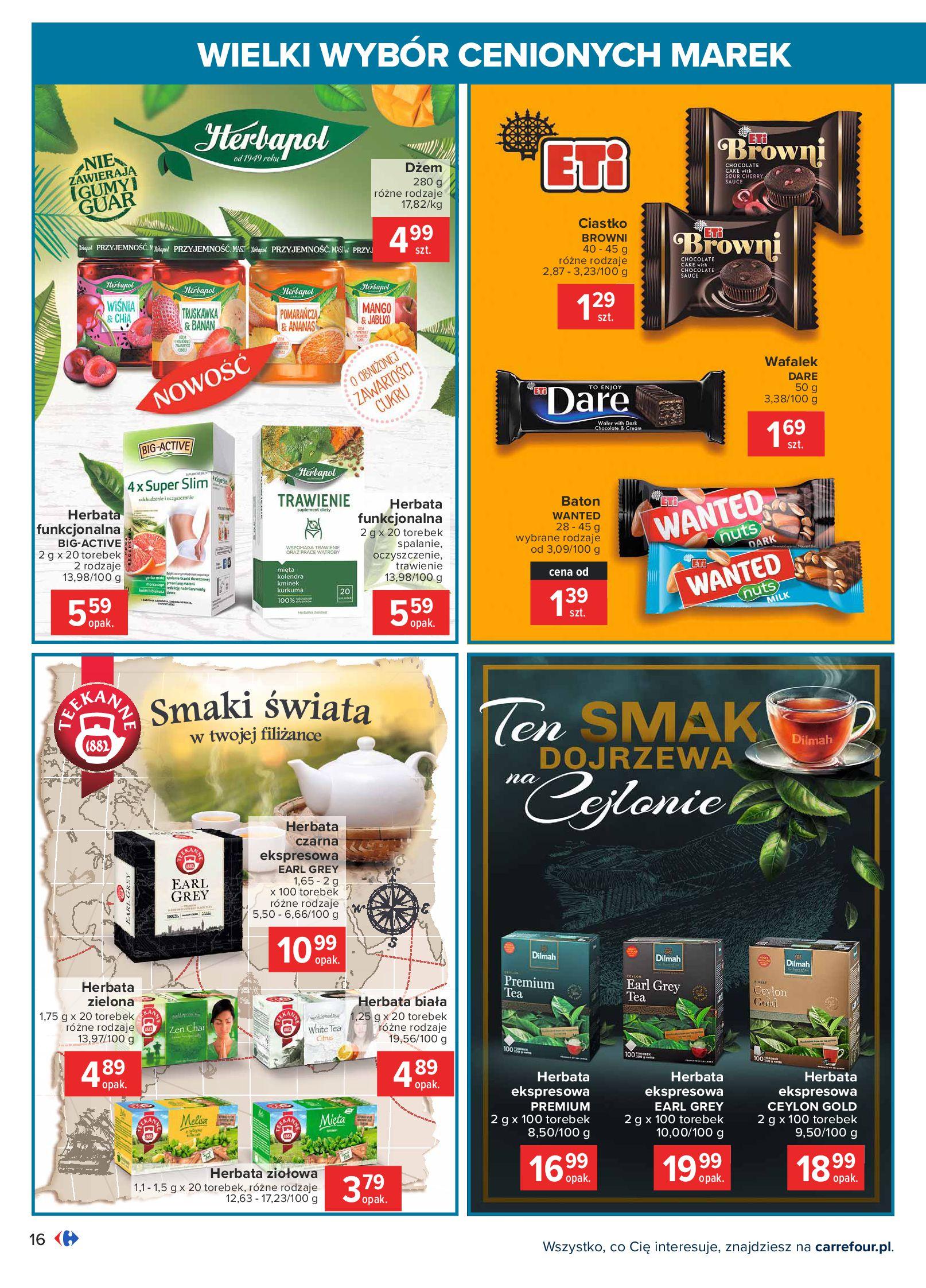 Gazetka Carrefour: Wielki wybór cenionych marek 2021-05-04 page-16
