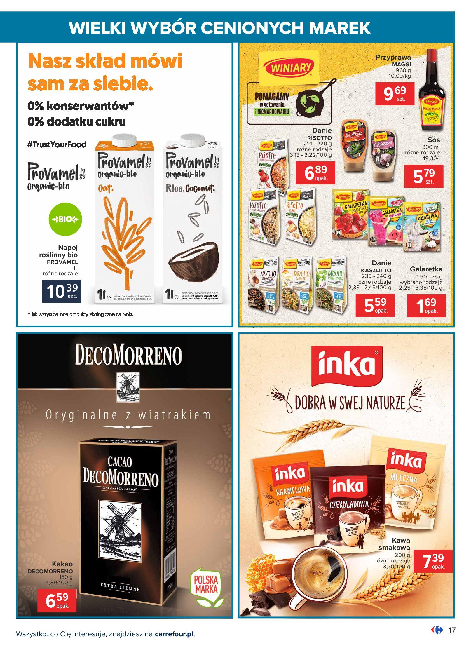 Gazetka Carrefour: Wielki wybór cenionych marek 2021-05-04 page-17