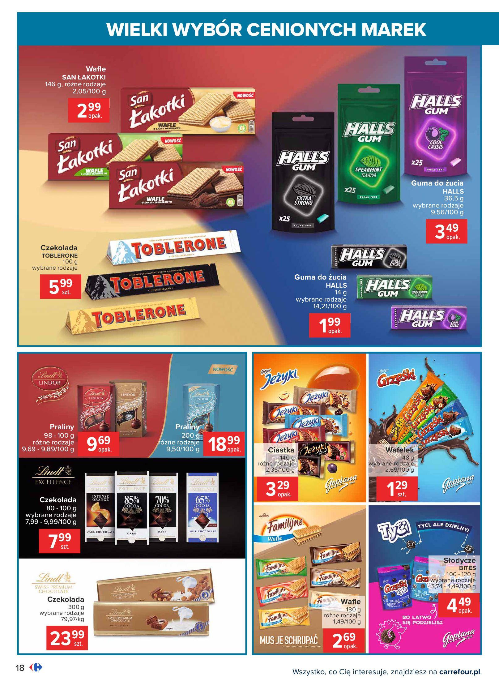 Gazetka Carrefour: Wielki wybór cenionych marek 2021-05-04 page-18