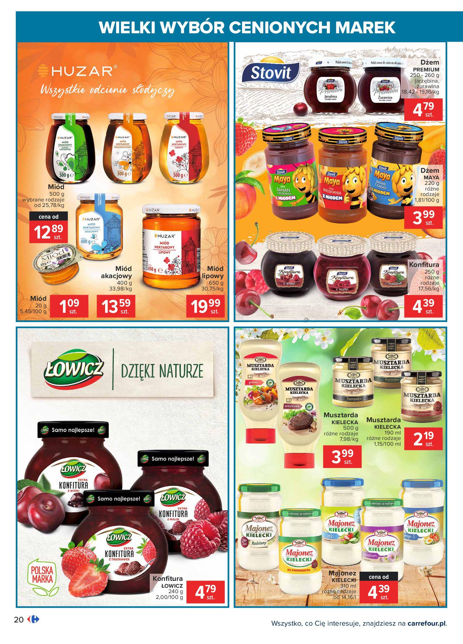 Gazetka Carrefour: Wielki wybór cenionych marek 2021-05-04 page-20
