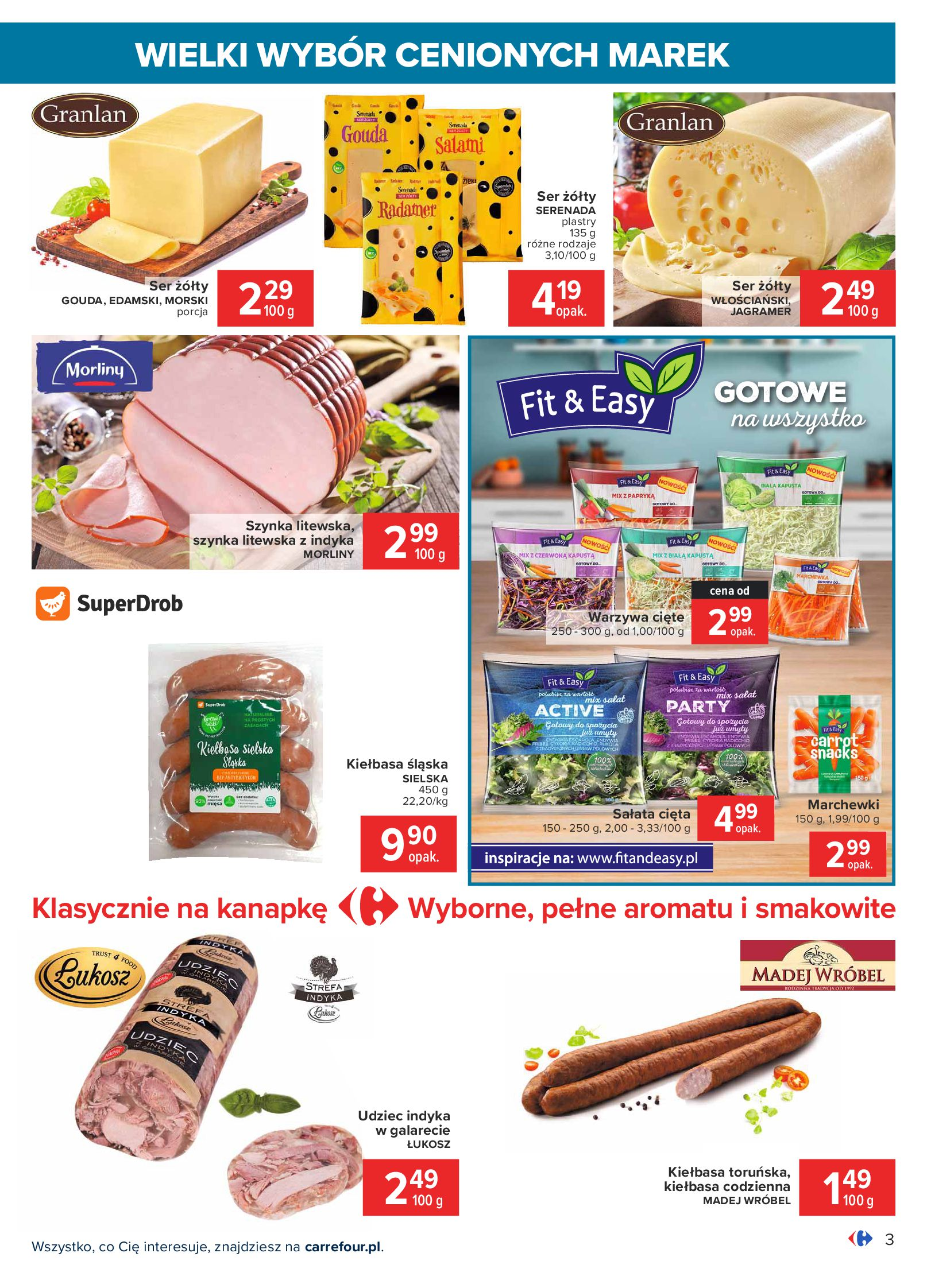 Gazetka Carrefour: Wielki wybór cenionych marek 2021-05-04 page-3