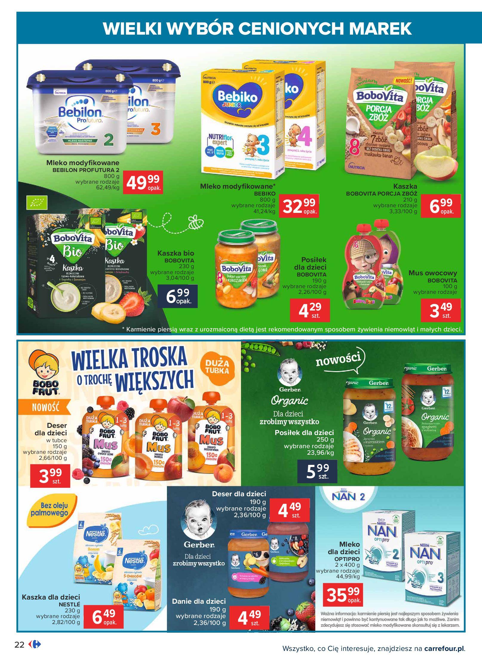 Gazetka Carrefour: Wielki wybór cenionych marek 2021-05-04 page-22