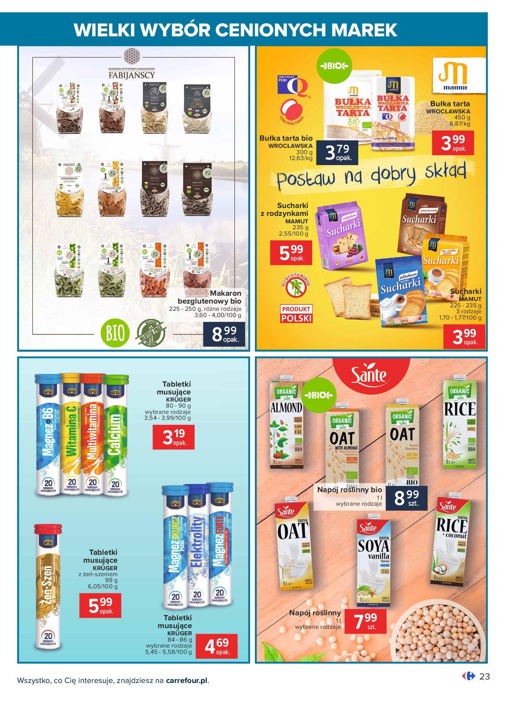 Gazetka Carrefour: Wielki wybór cenionych marek 2021-05-04 page-23
