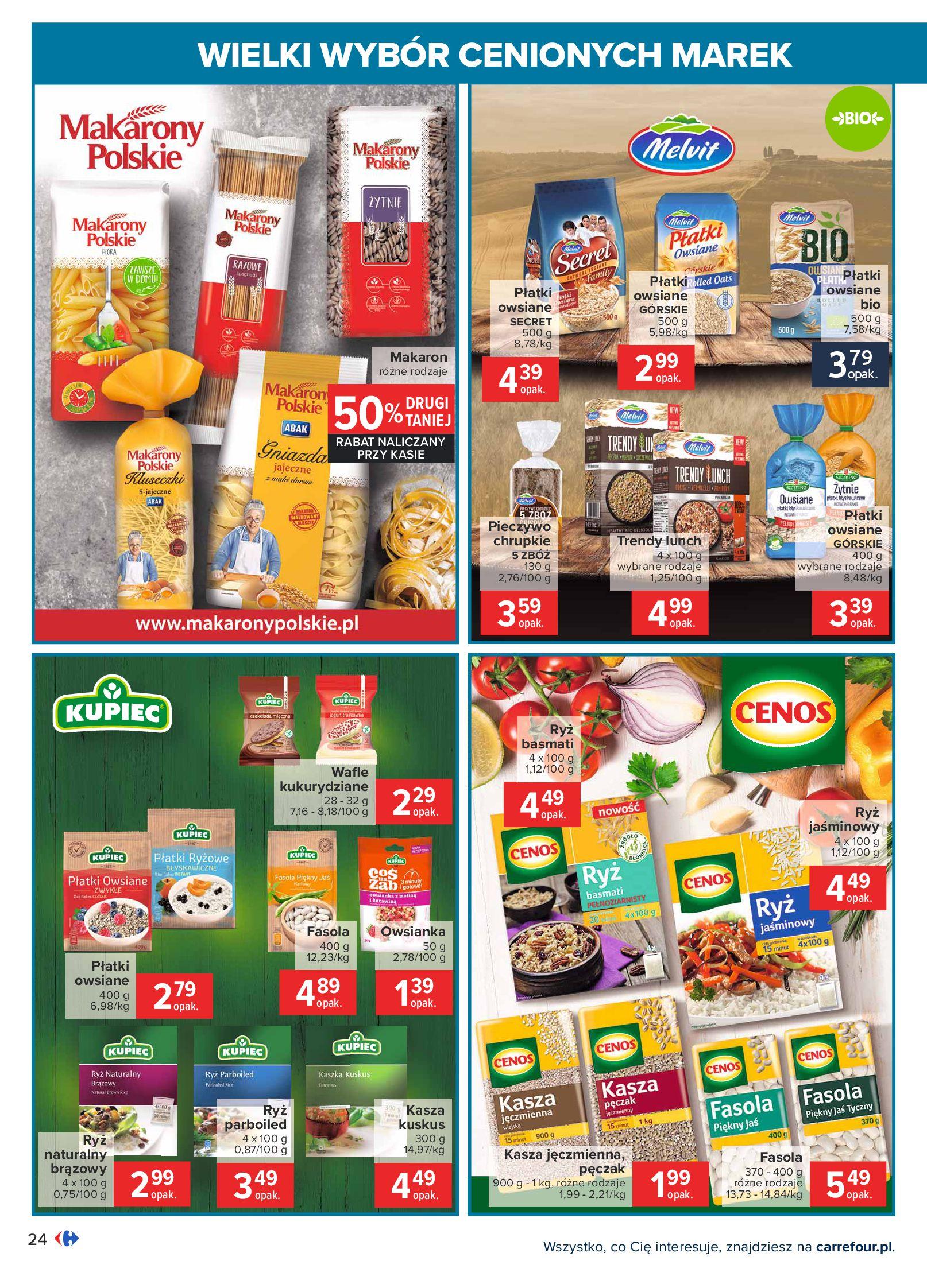 Gazetka Carrefour: Wielki wybór cenionych marek 2021-05-04 page-24