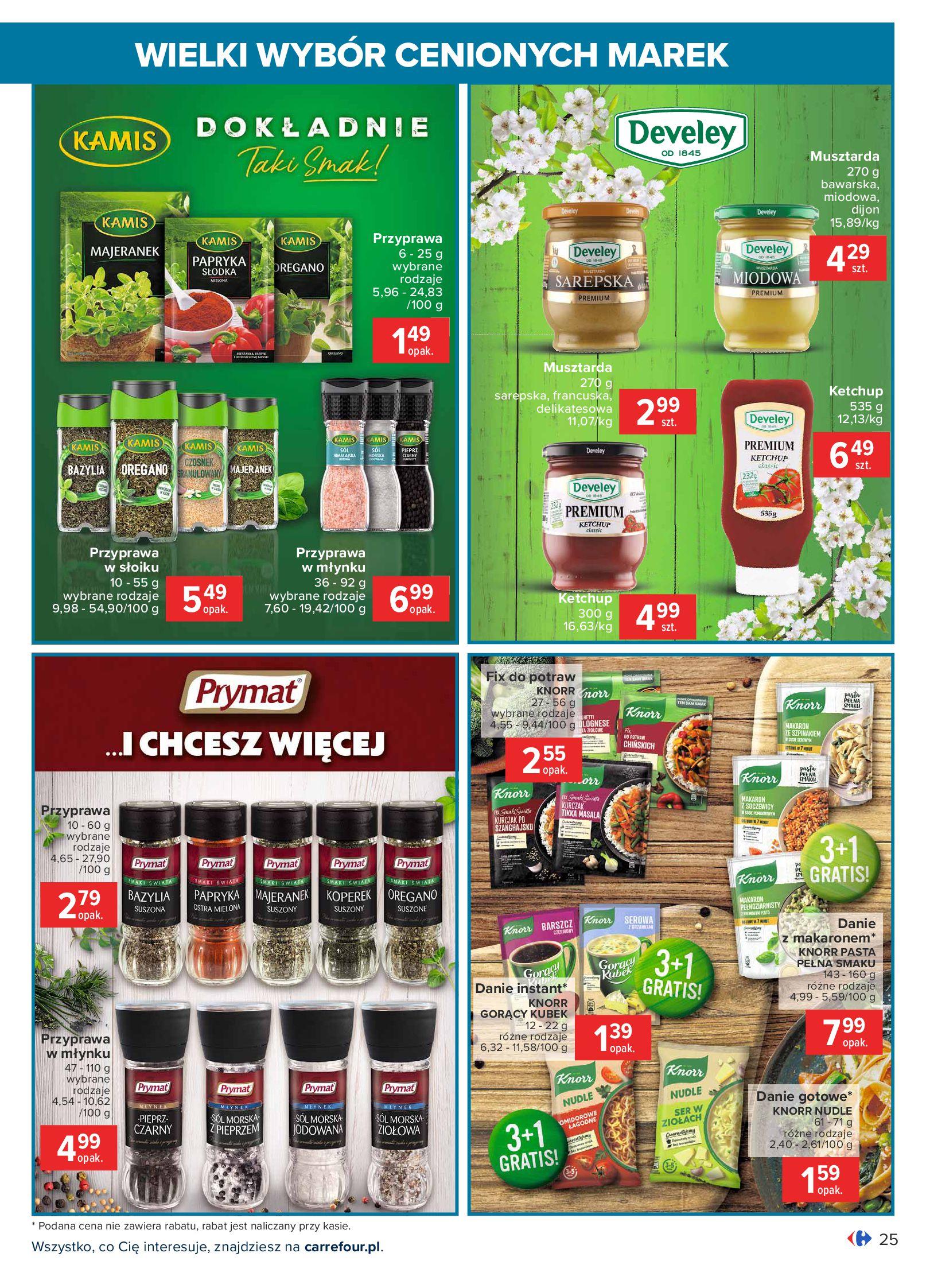 Gazetka Carrefour: Wielki wybór cenionych marek 2021-05-04 page-25
