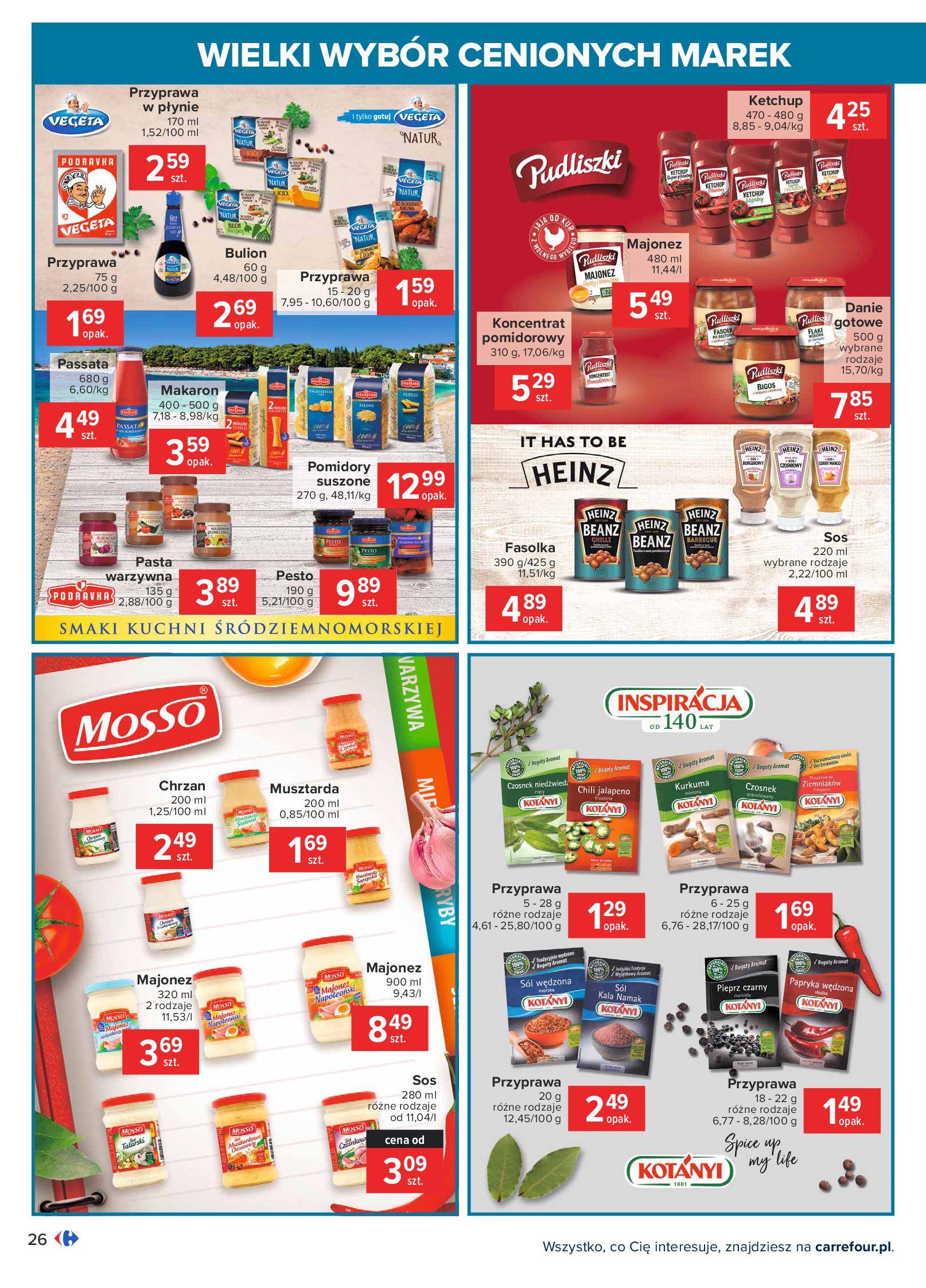 Gazetka Carrefour: Wielki wybór cenionych marek 2021-05-04 page-26