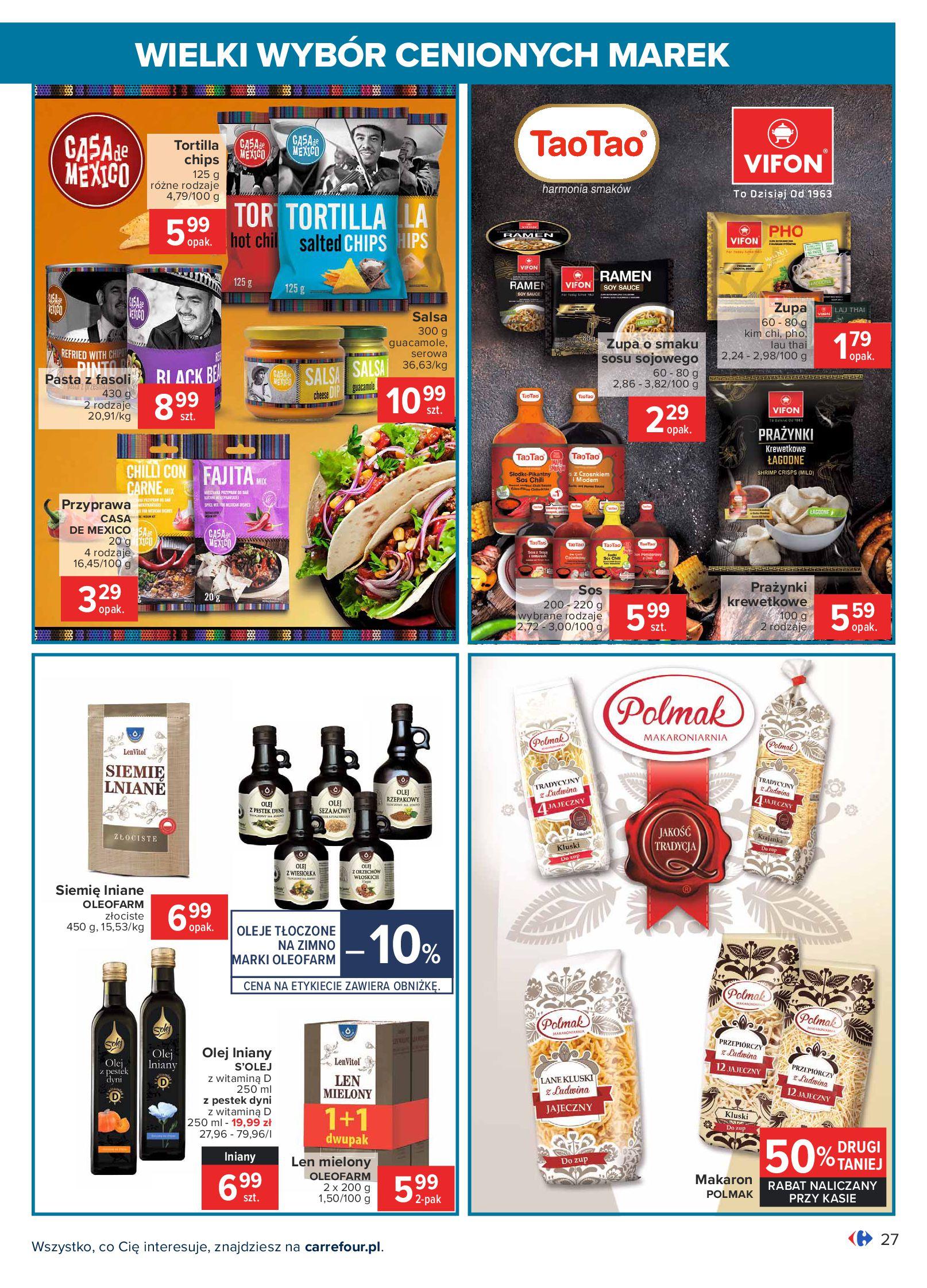Gazetka Carrefour: Wielki wybór cenionych marek 2021-05-04 page-27